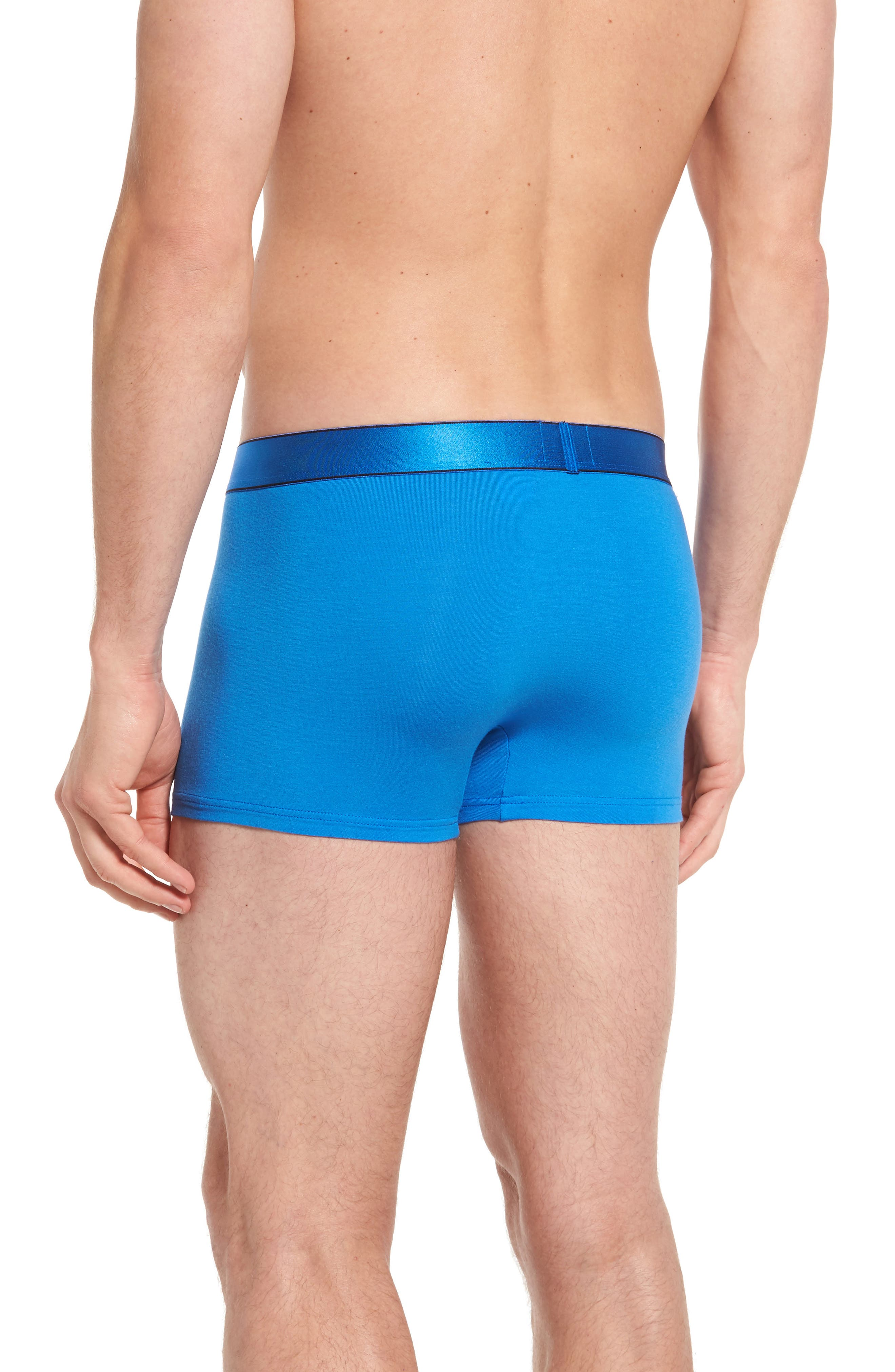 Alternate Image 2  - Calvin Klein Modern Stretch Modal Trunks