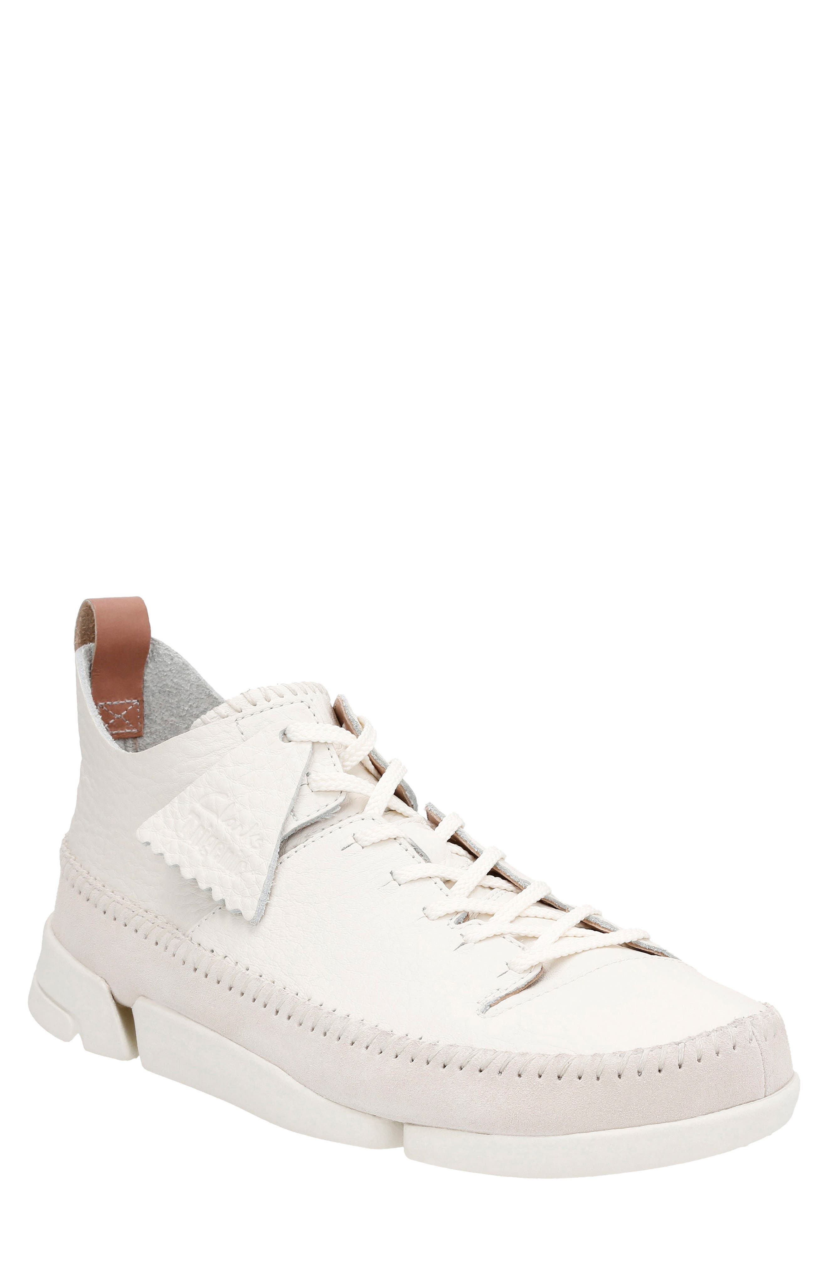 Alternate Image 1 Selected - Clarks® 'Trigenic Flex' Leather Sneaker (Men)