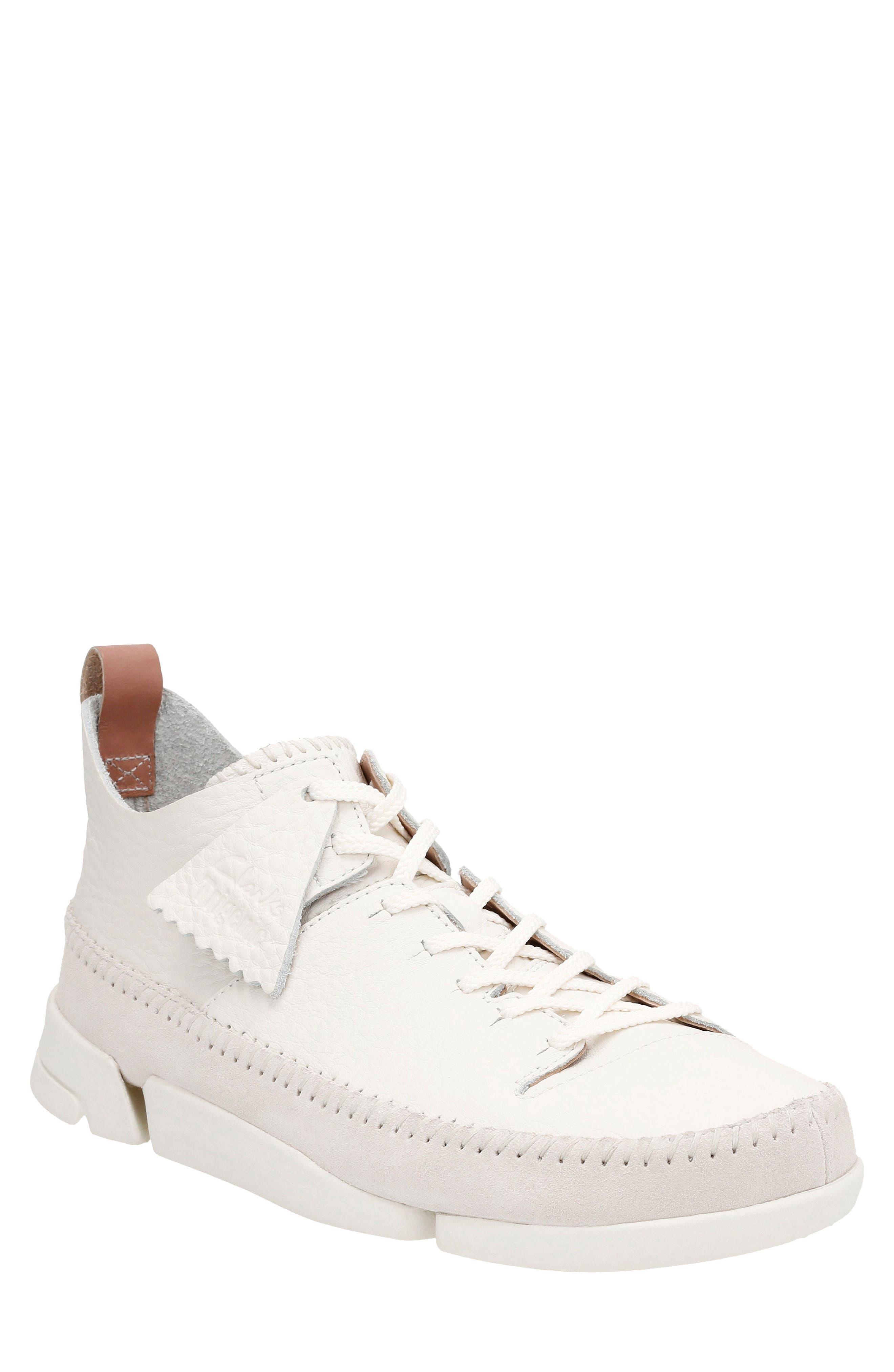 Clarks® 'Trigenic Flex' Leather Sneaker (Men)