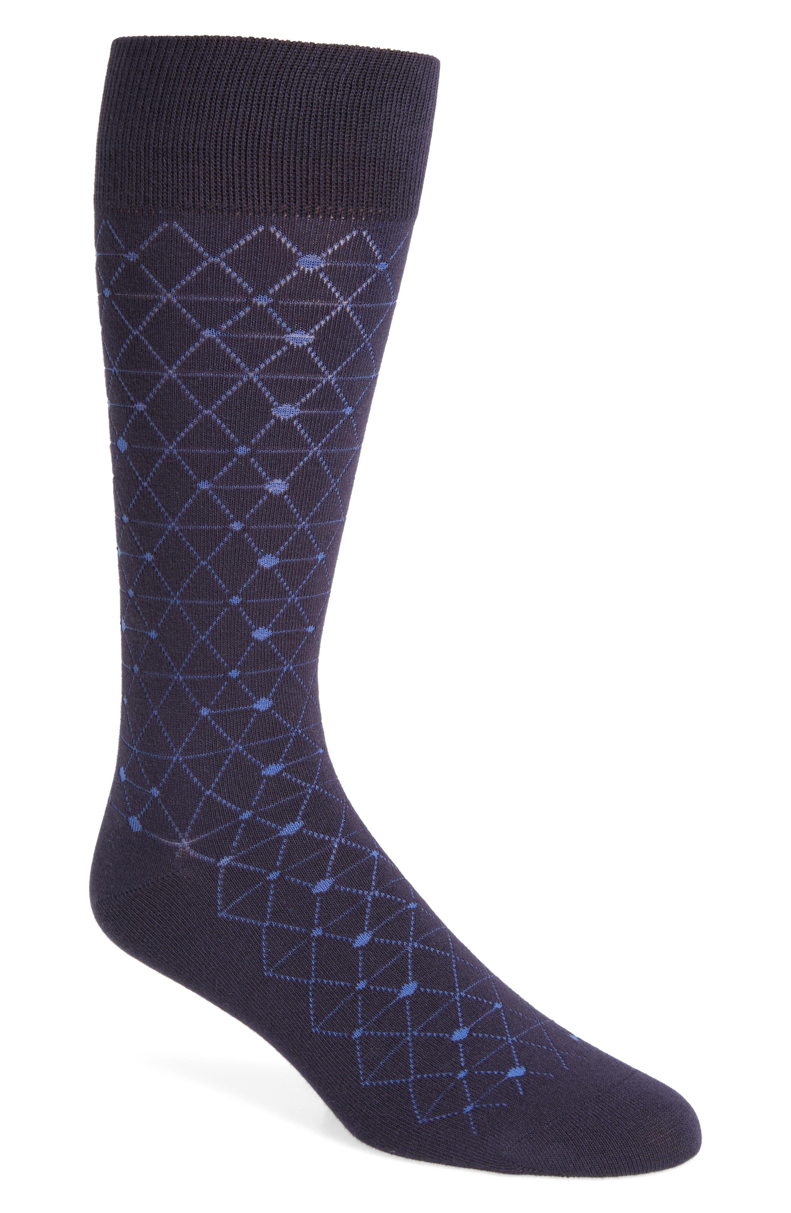 Calibrate Plaited Geo Socks