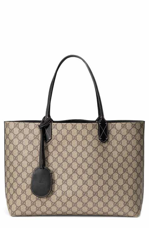 2124d4d8f1f Gucci Medium Turnaround Reversible Leather Tote