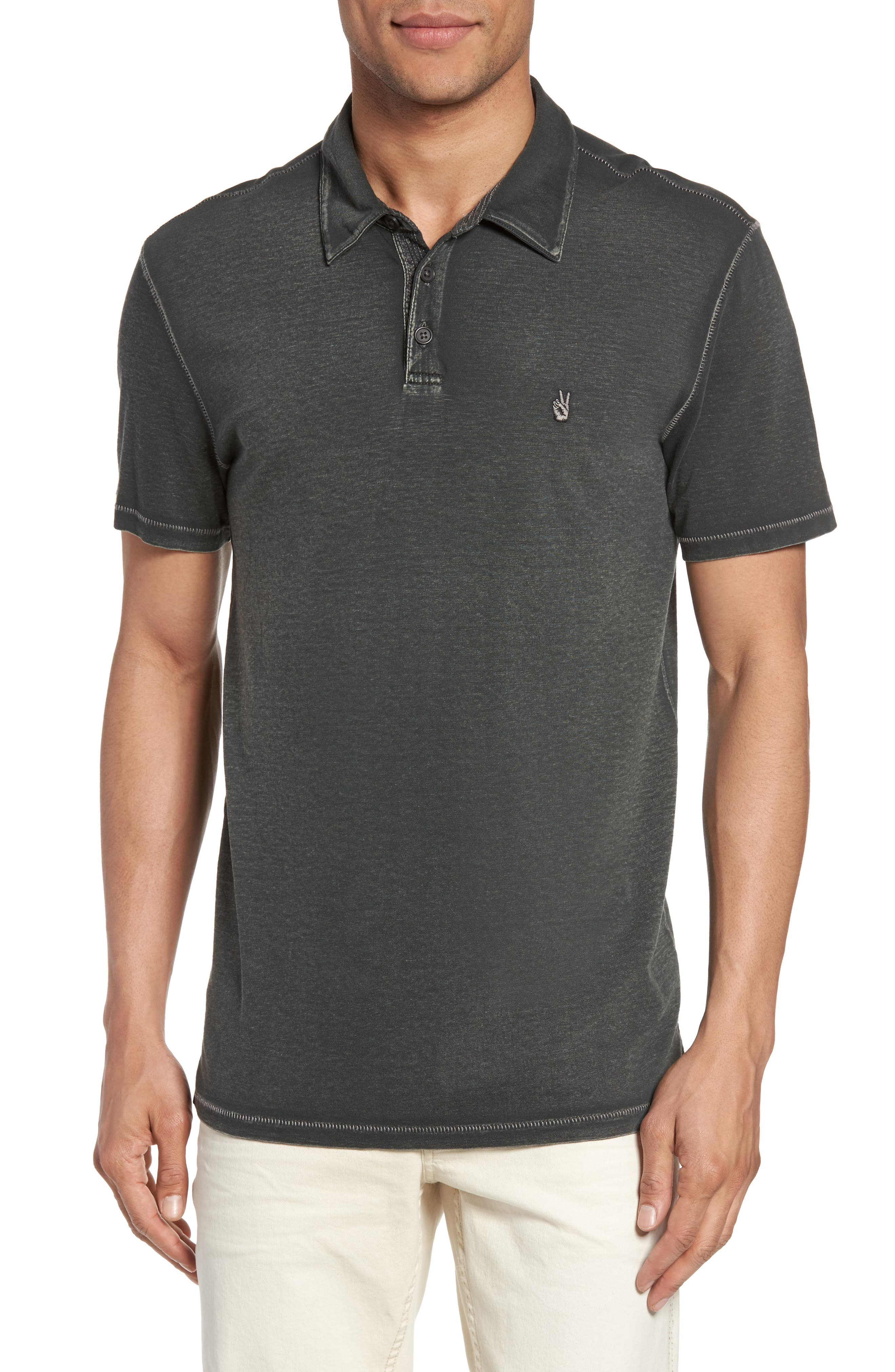 John Varvatos Star USA Short Sleeve Polo