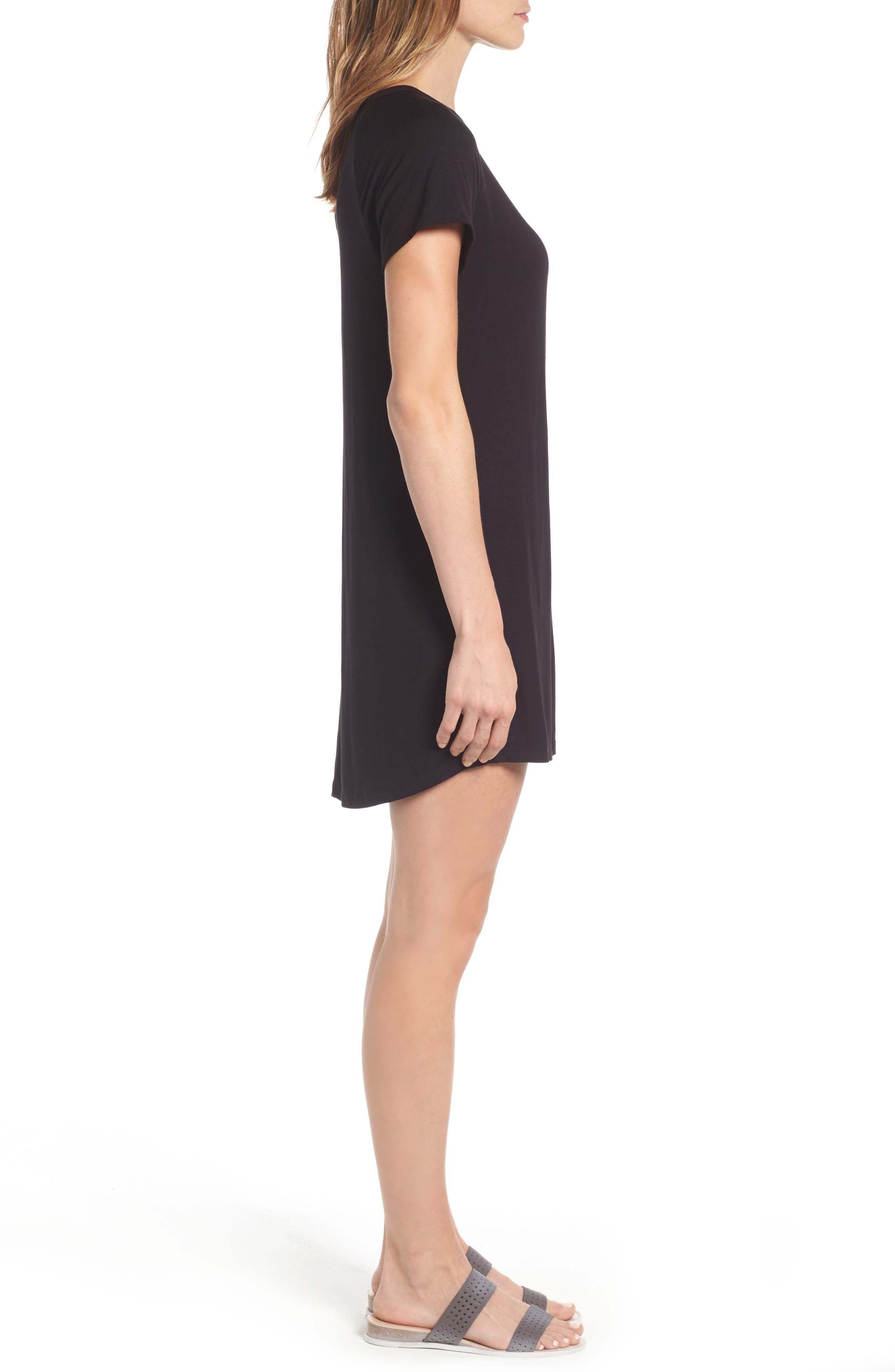 Alternate Image 3  - Bobeau Back Cutout Tunic Dress (Regular & Petite)