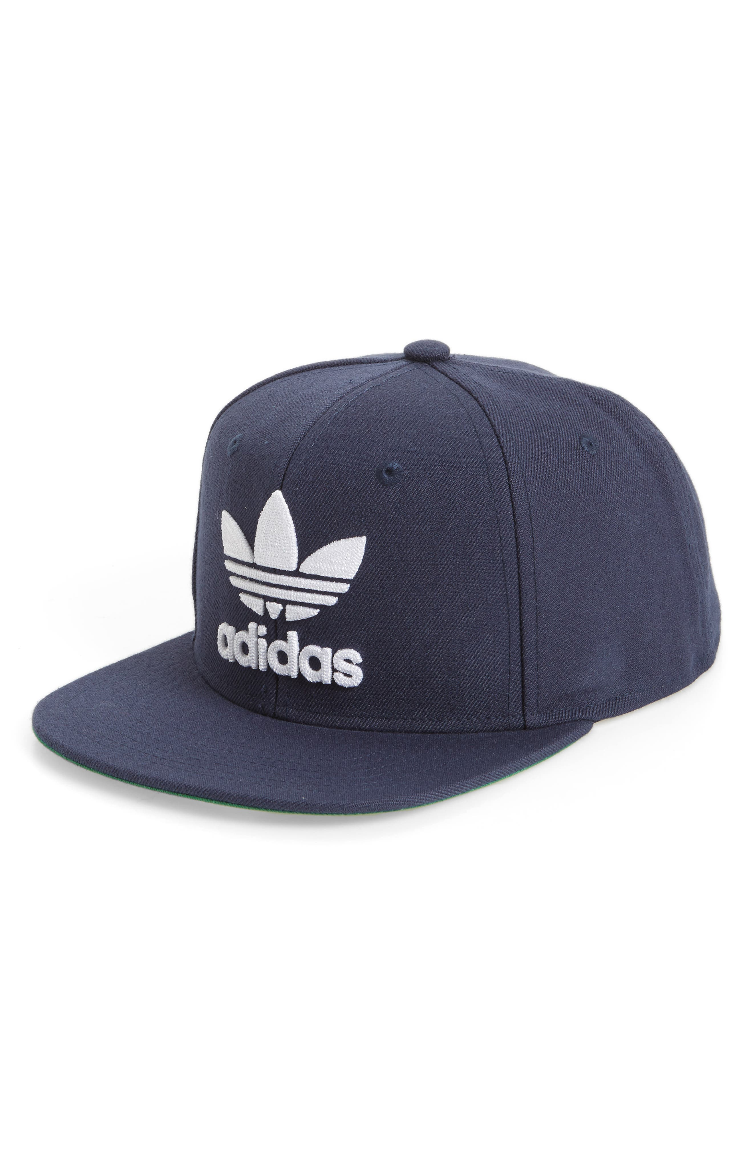 Alternate Image 1 Selected - adidas Trefoil Chain Snapback Baseball Cap