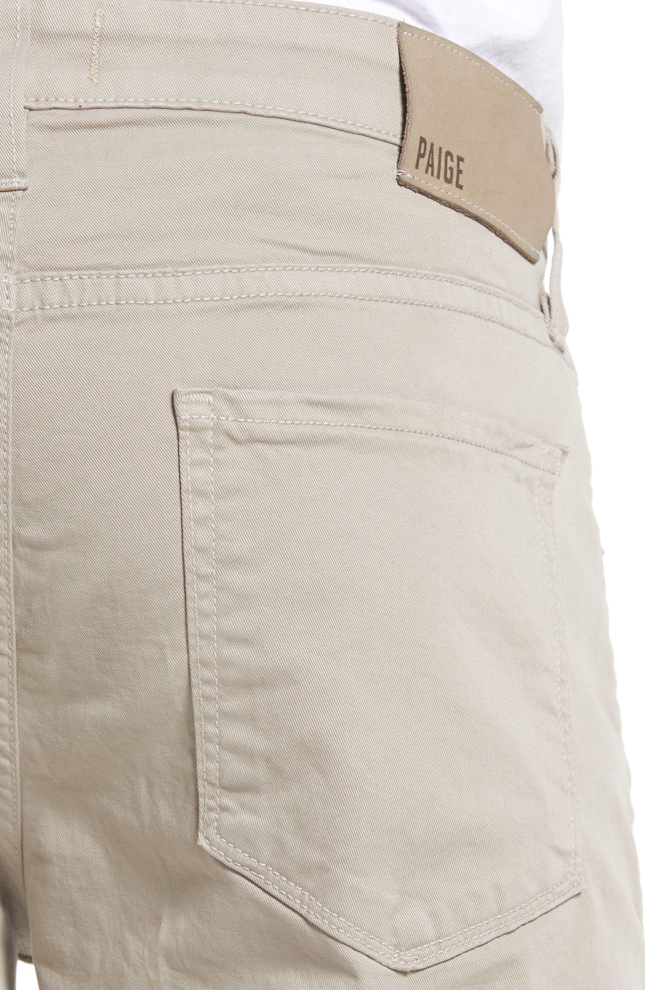 Lennox Skinny Fit Pants,                             Alternate thumbnail 4, color,                             Grey Coast