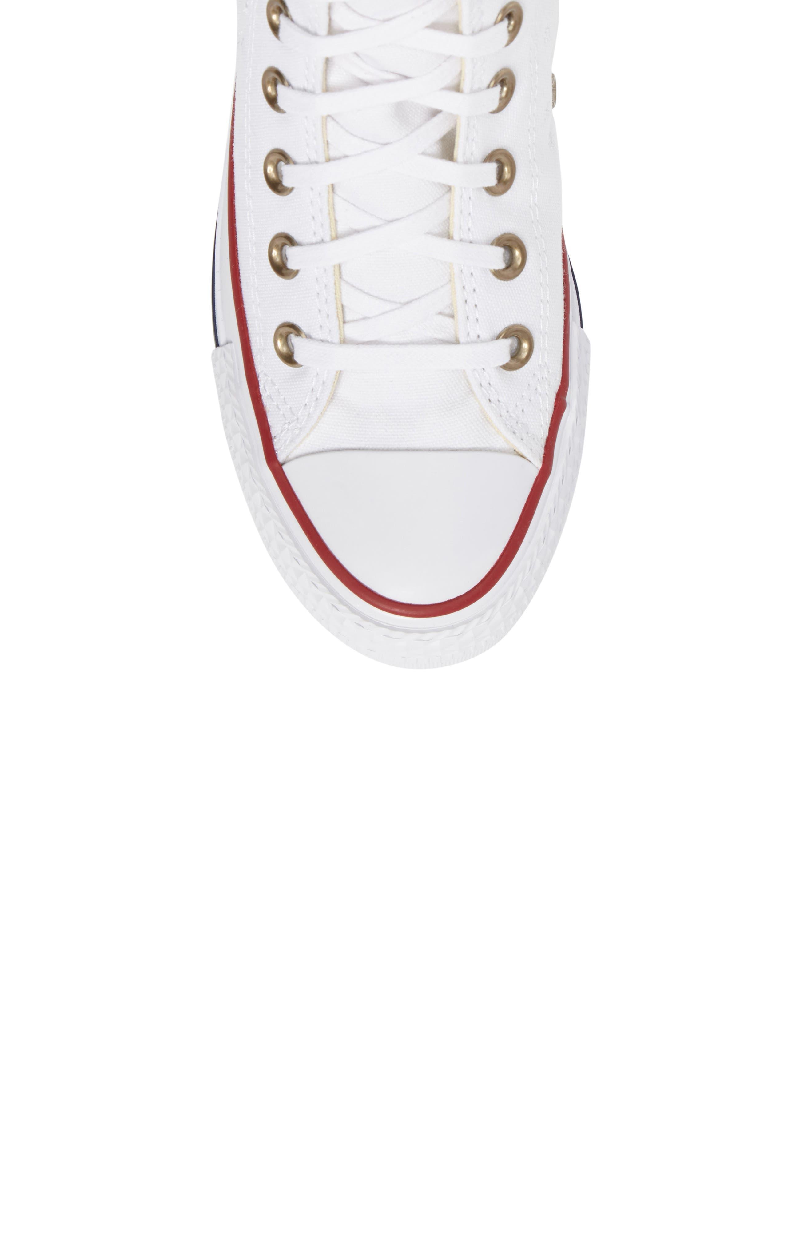 Alternate Image 4  - Converse Chuck Taylor® High Top Sneaker (Women)