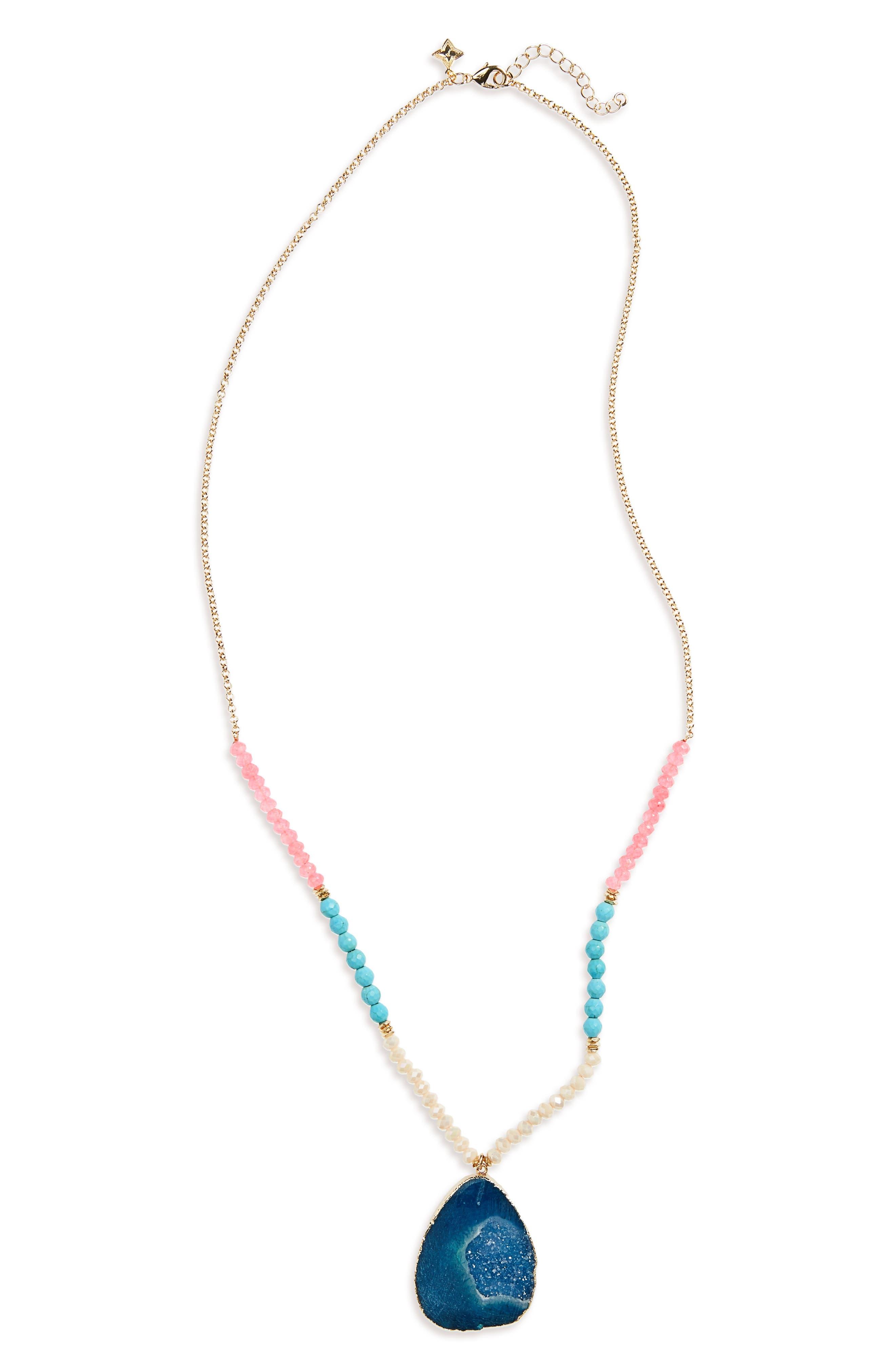 Panacea Stone Pendant Necklace
