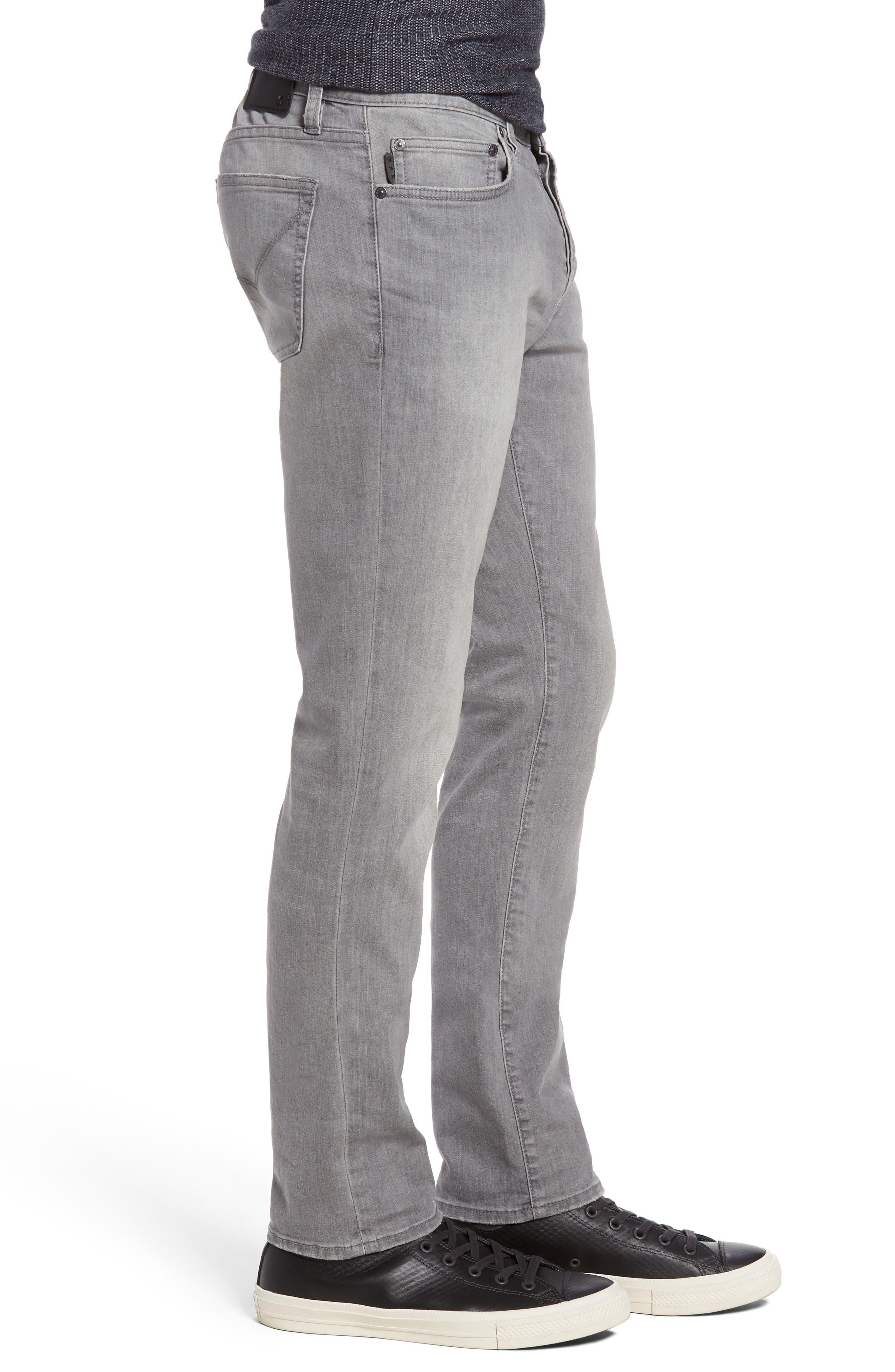Wight Skinny Jeans,                             Alternate thumbnail 3, color,                             Medium Grey