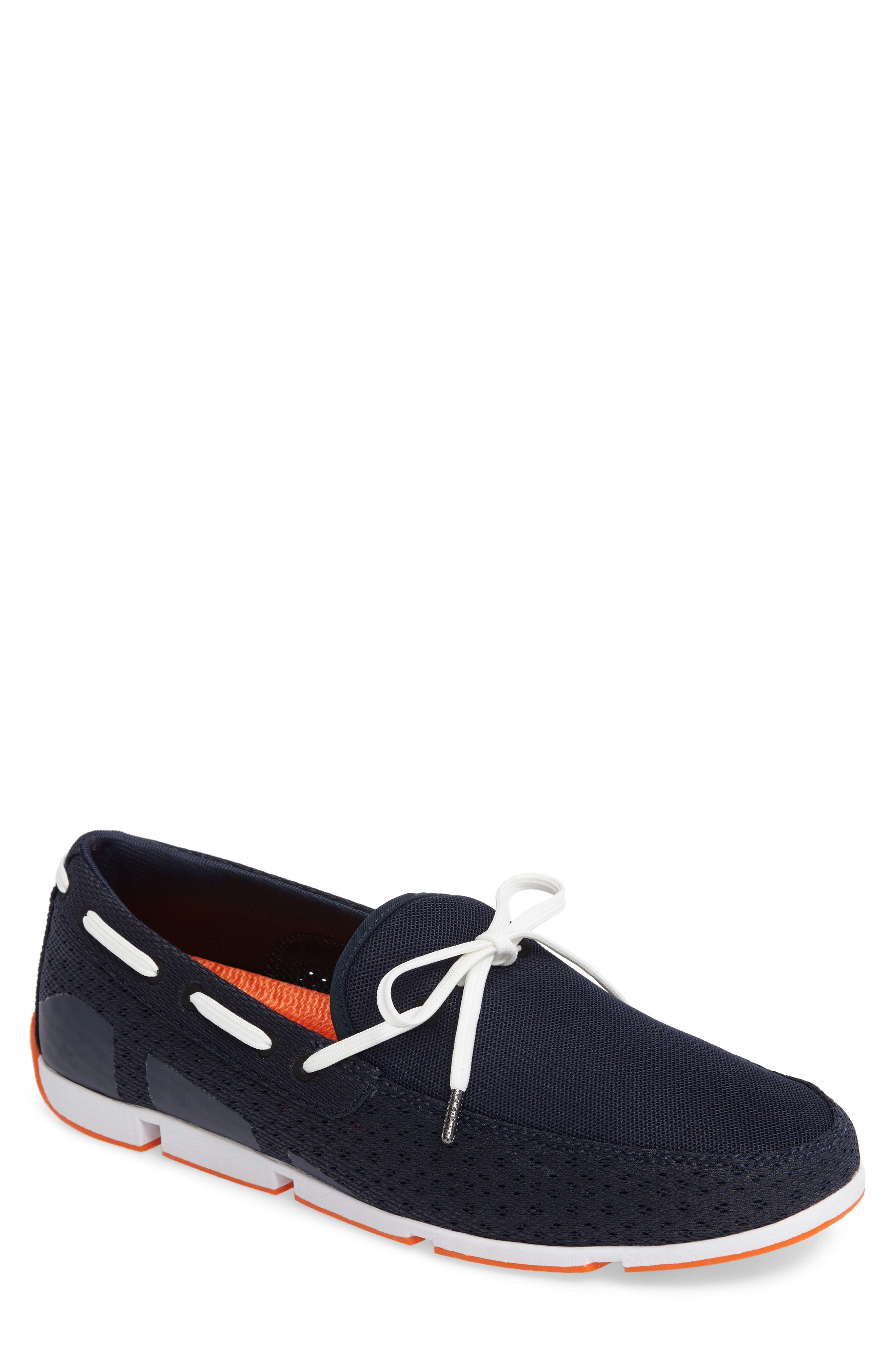 'Breeze' Slip-On,                         Main,                         color, Navy/Navy