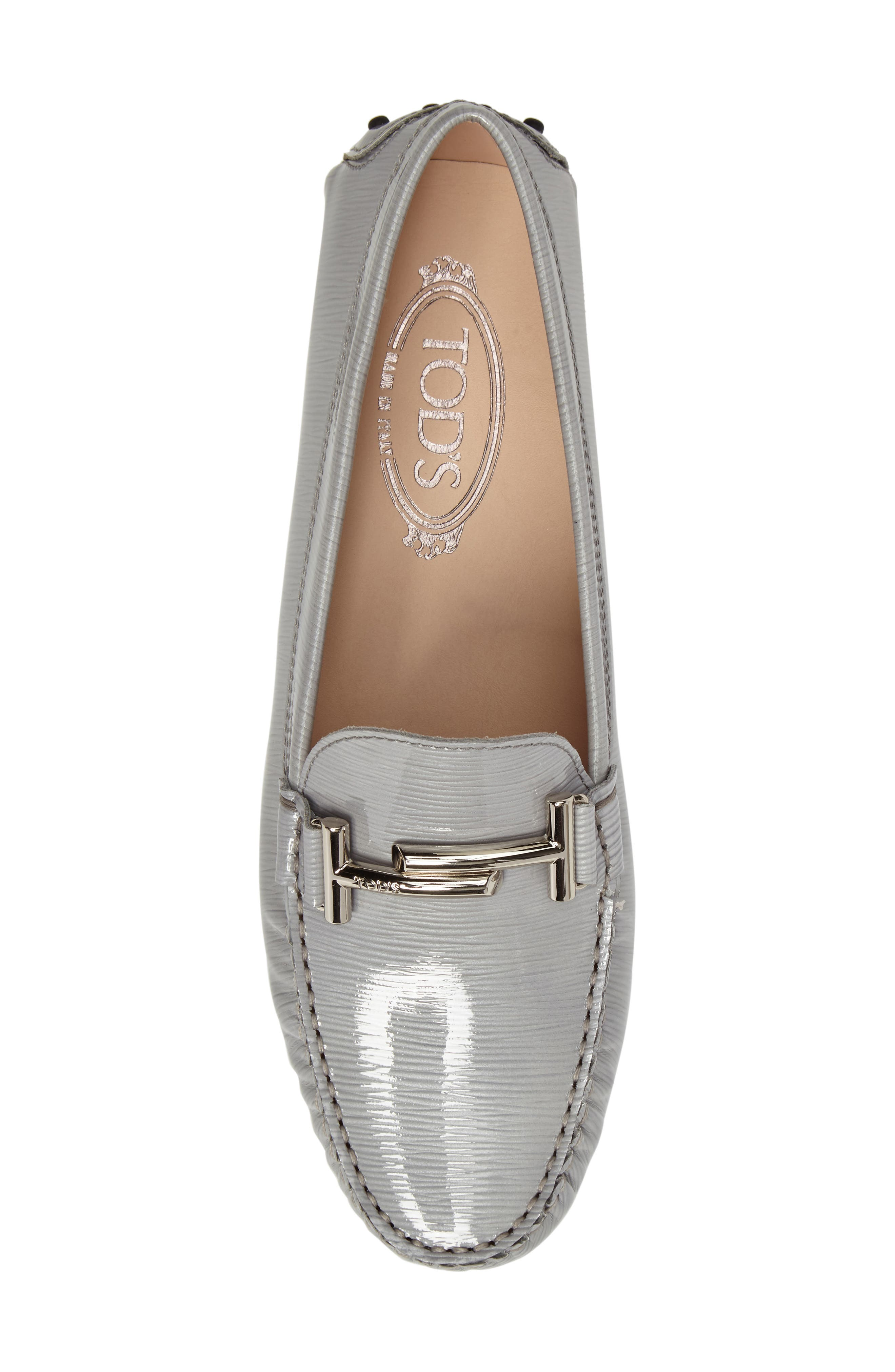 Alternate Image 5  - Tod's Gommino Double-T Striated Driving Shoe (Women)