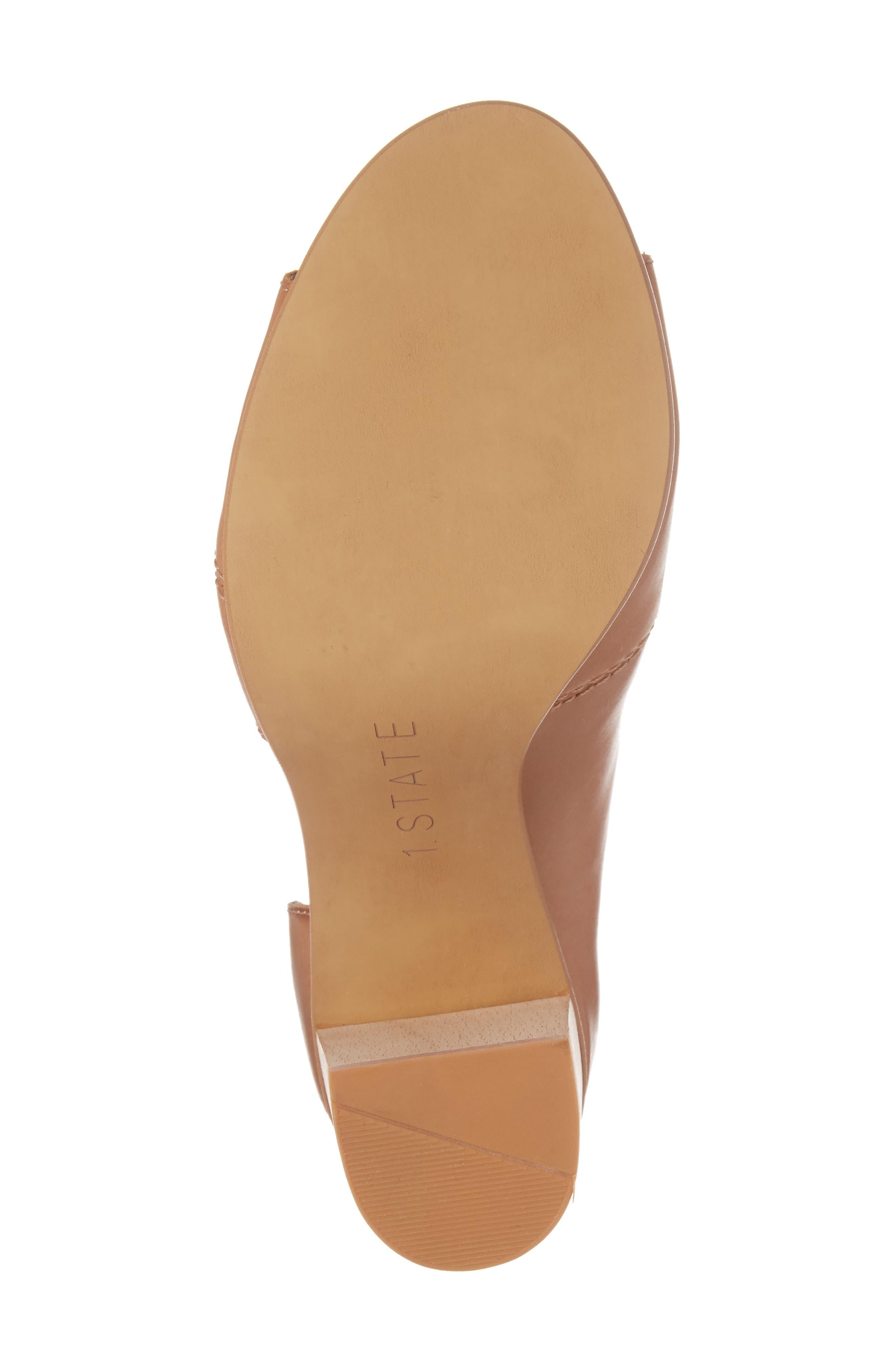 Amble Asymmetrical Sandal,                             Alternate thumbnail 6, color,                             Tan Leather