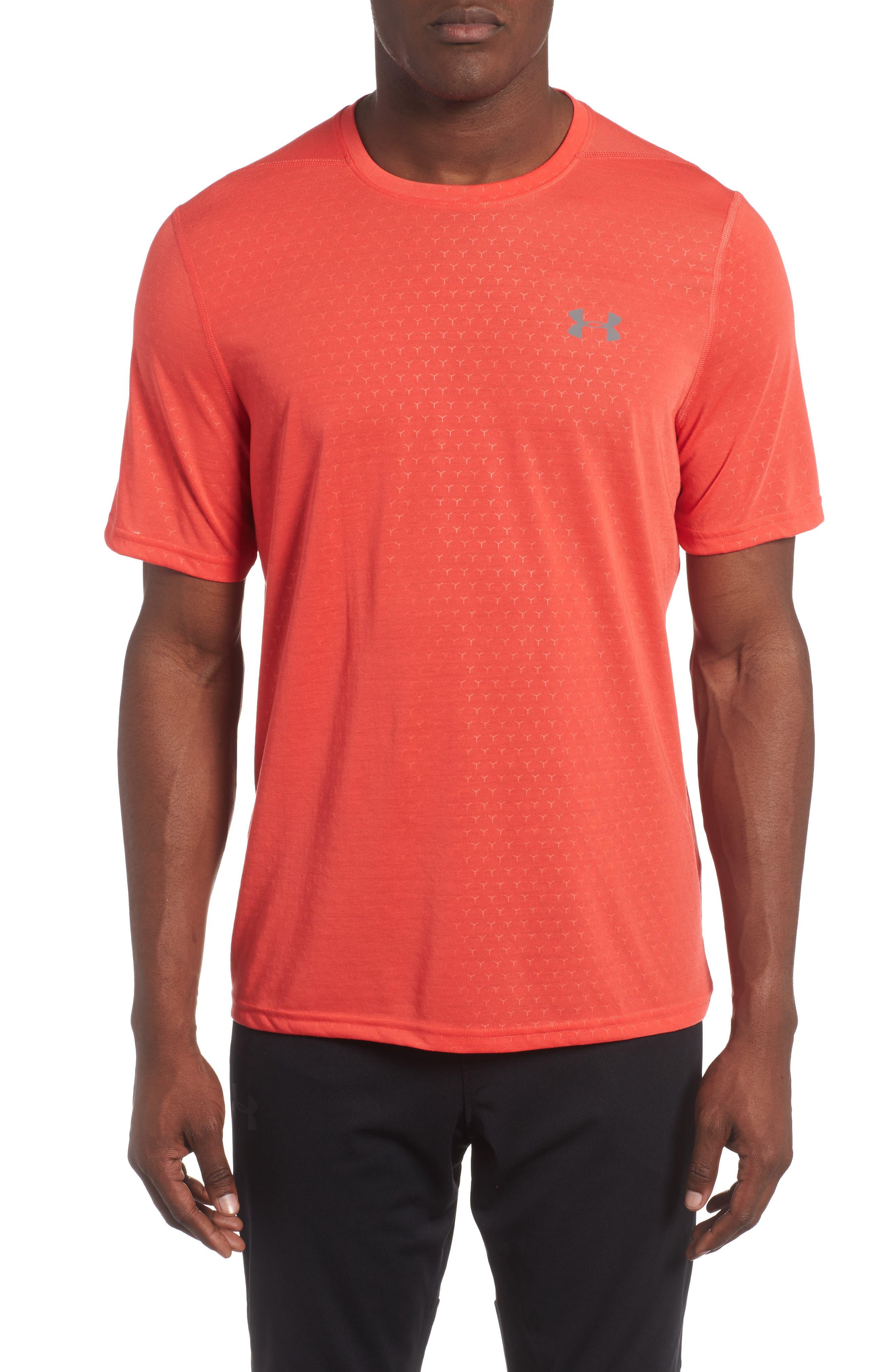 Alternate Image 1 Selected - Under Armour Threadborne Siro Regular Fit T-Shirt