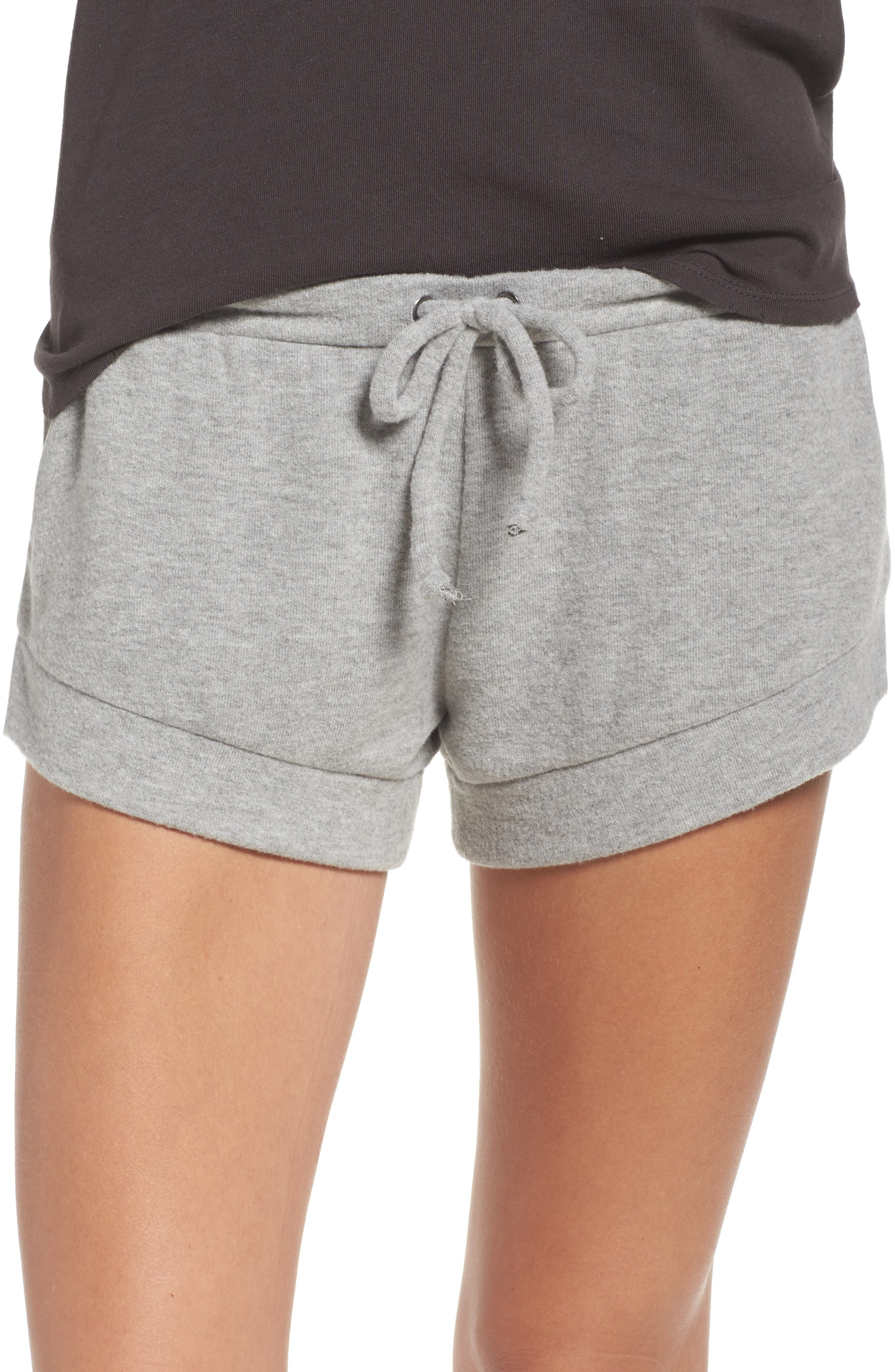 Lounge Shorts,                         Main,                         color, Heather Grey
