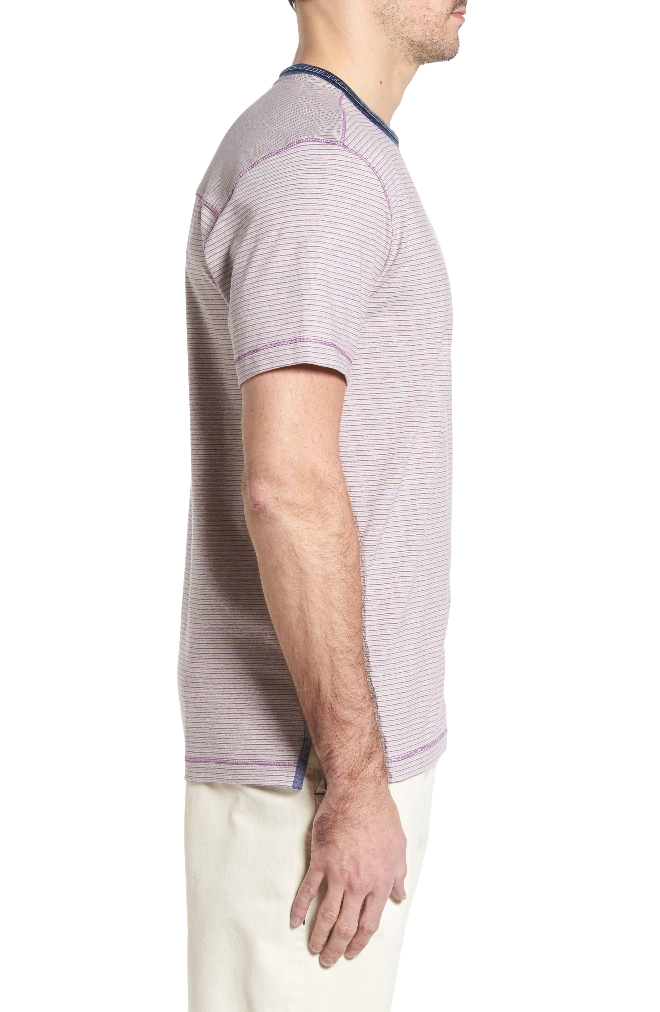 Alternate Image 3  - Thaddeus Strong Stripe T-Shirt