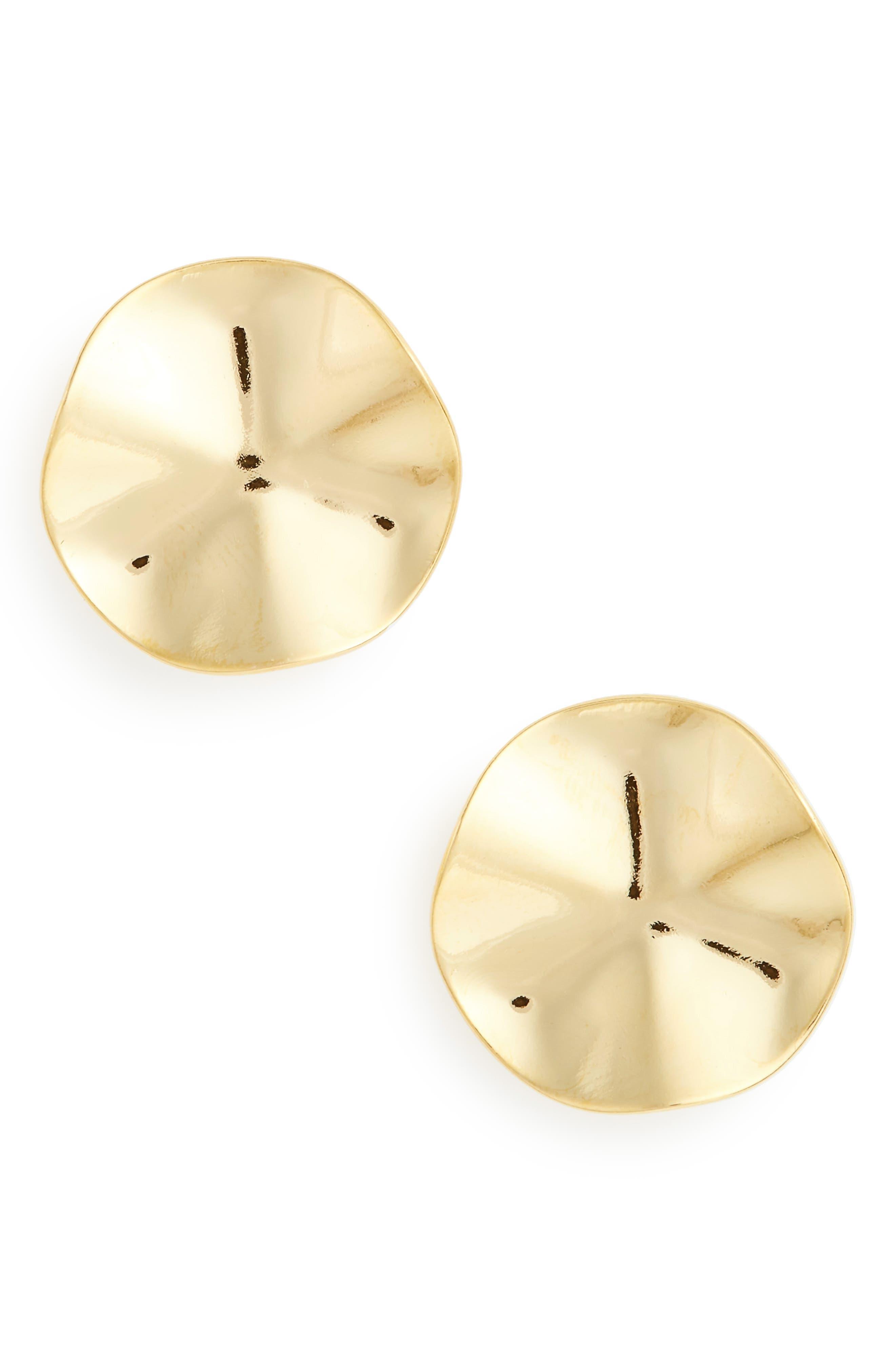 Alternate Image 1 Selected - BIKO Wave Stud Earrings