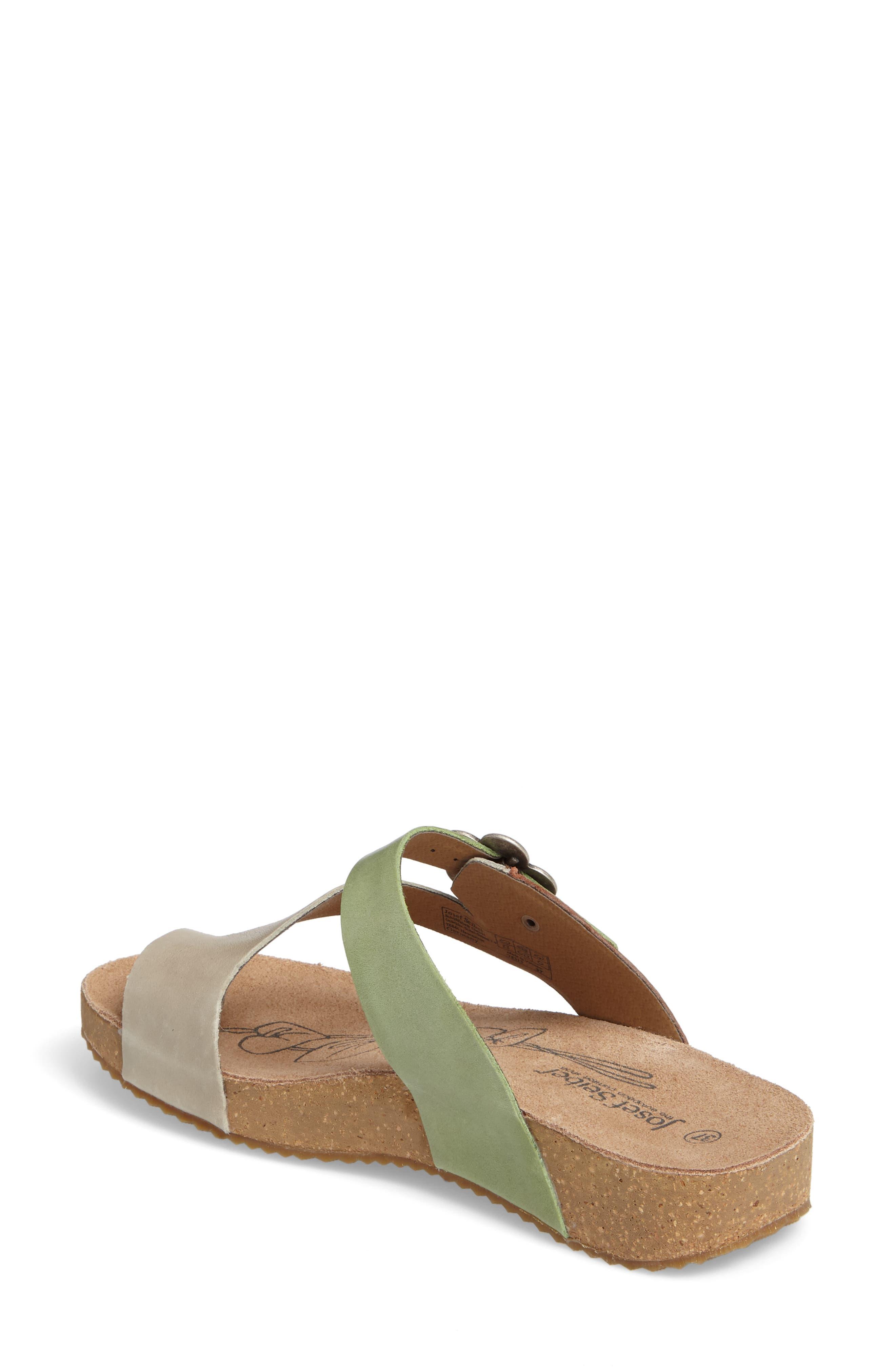 Tonga 23 Sandal,                             Alternate thumbnail 2, color,                             Grey Multi Leather