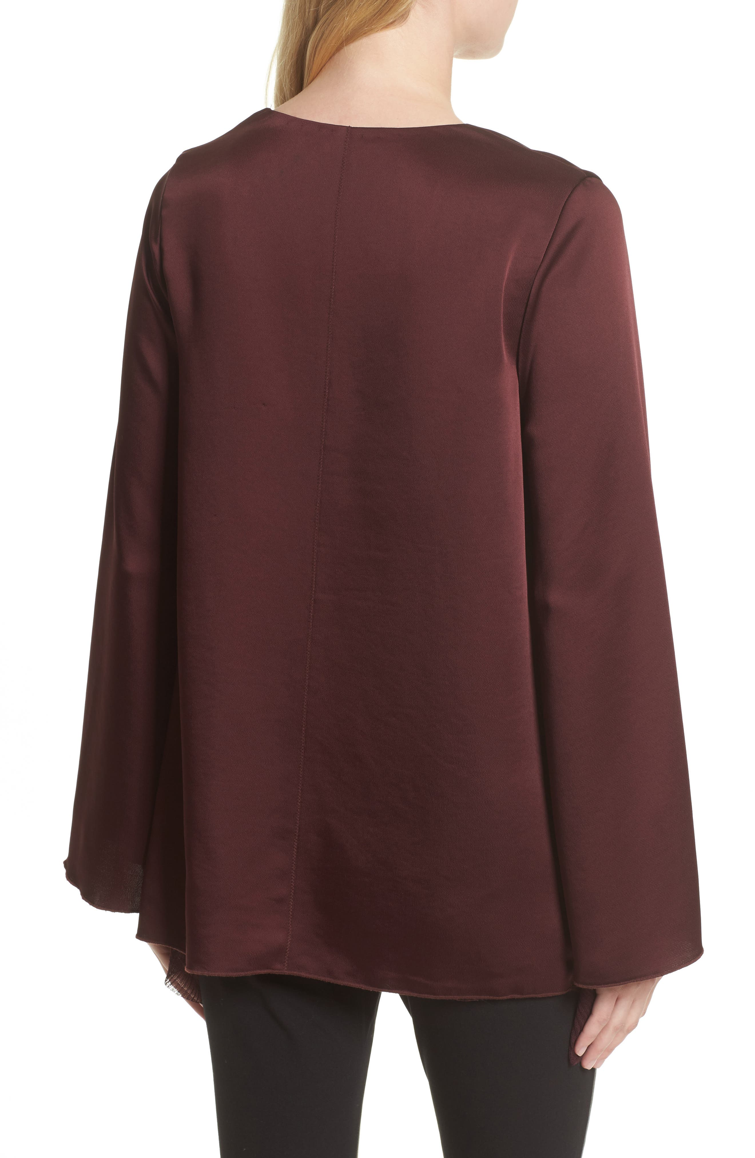 Alternate Image 2  - Elizabeth and James Heath Ruffle Hem Top (Nordstrom Exclusive)