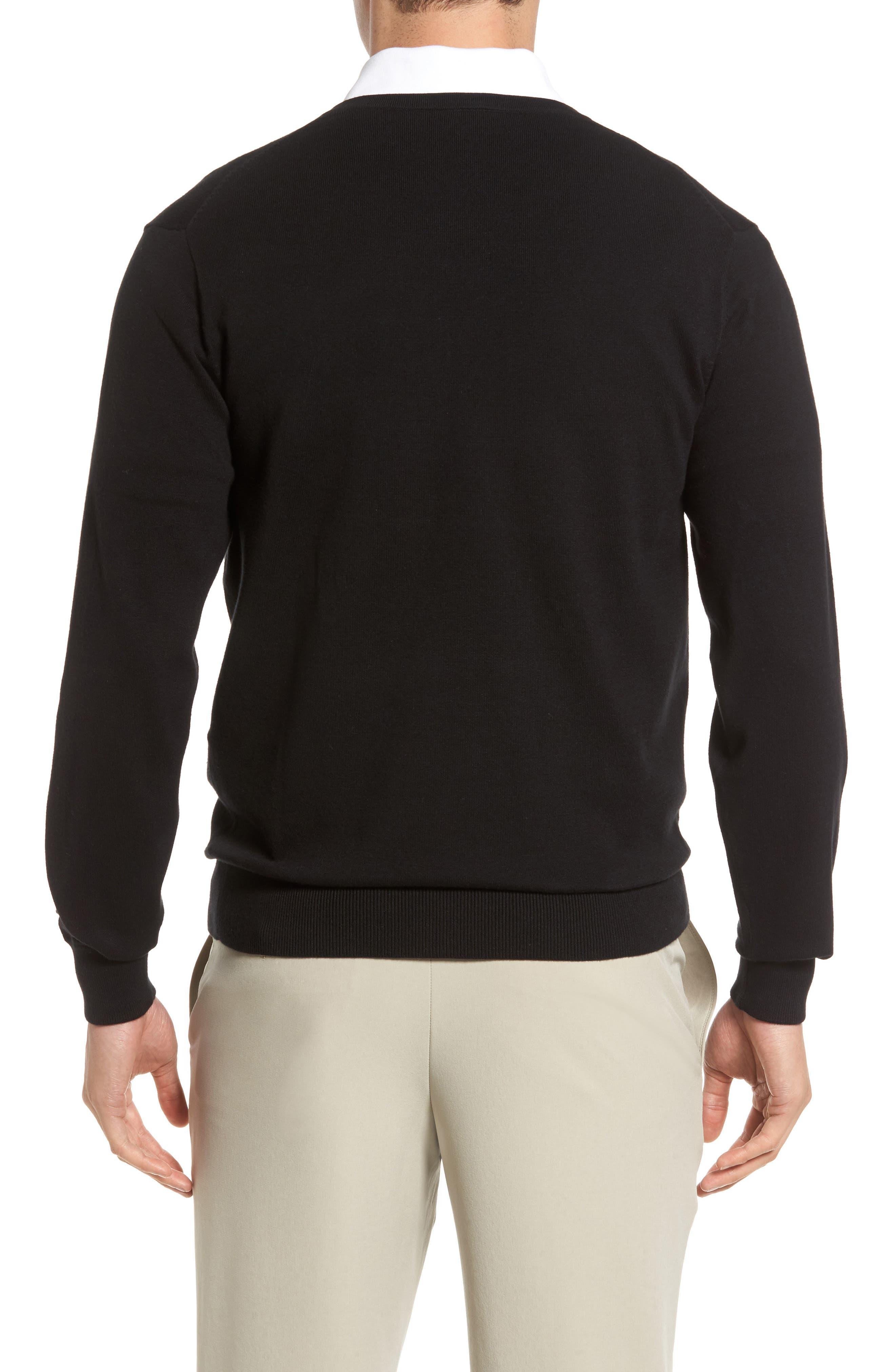 Lakemont V-Neck Sweater,                             Alternate thumbnail 2, color,                             Black