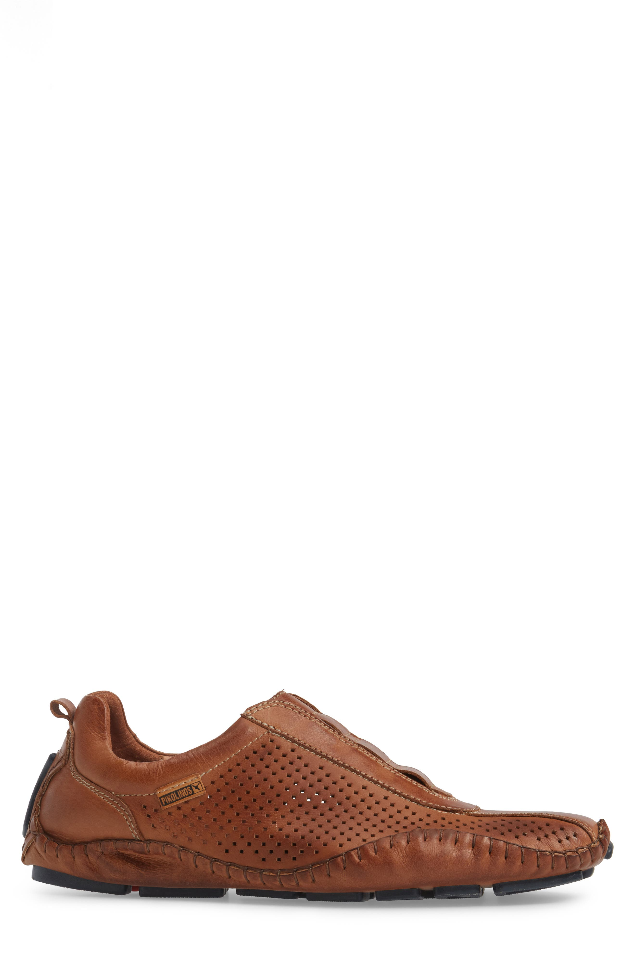Fuencarral Driving Shoe,                             Alternate thumbnail 3, color,                             Brandy Leather