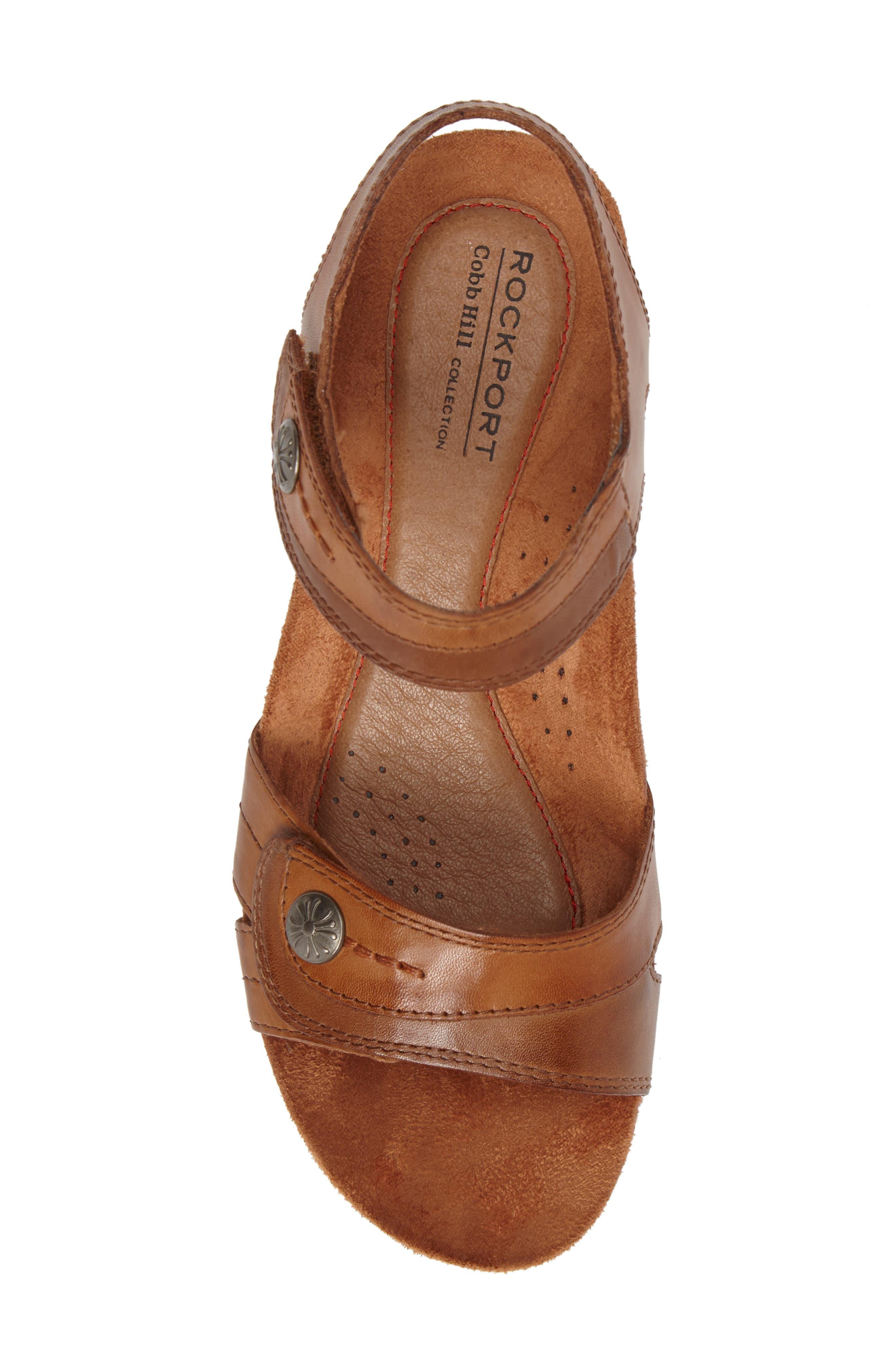 Alternate Image 5  - Rockport Cobb Hill Hollywood Wedge Sandal (Women)