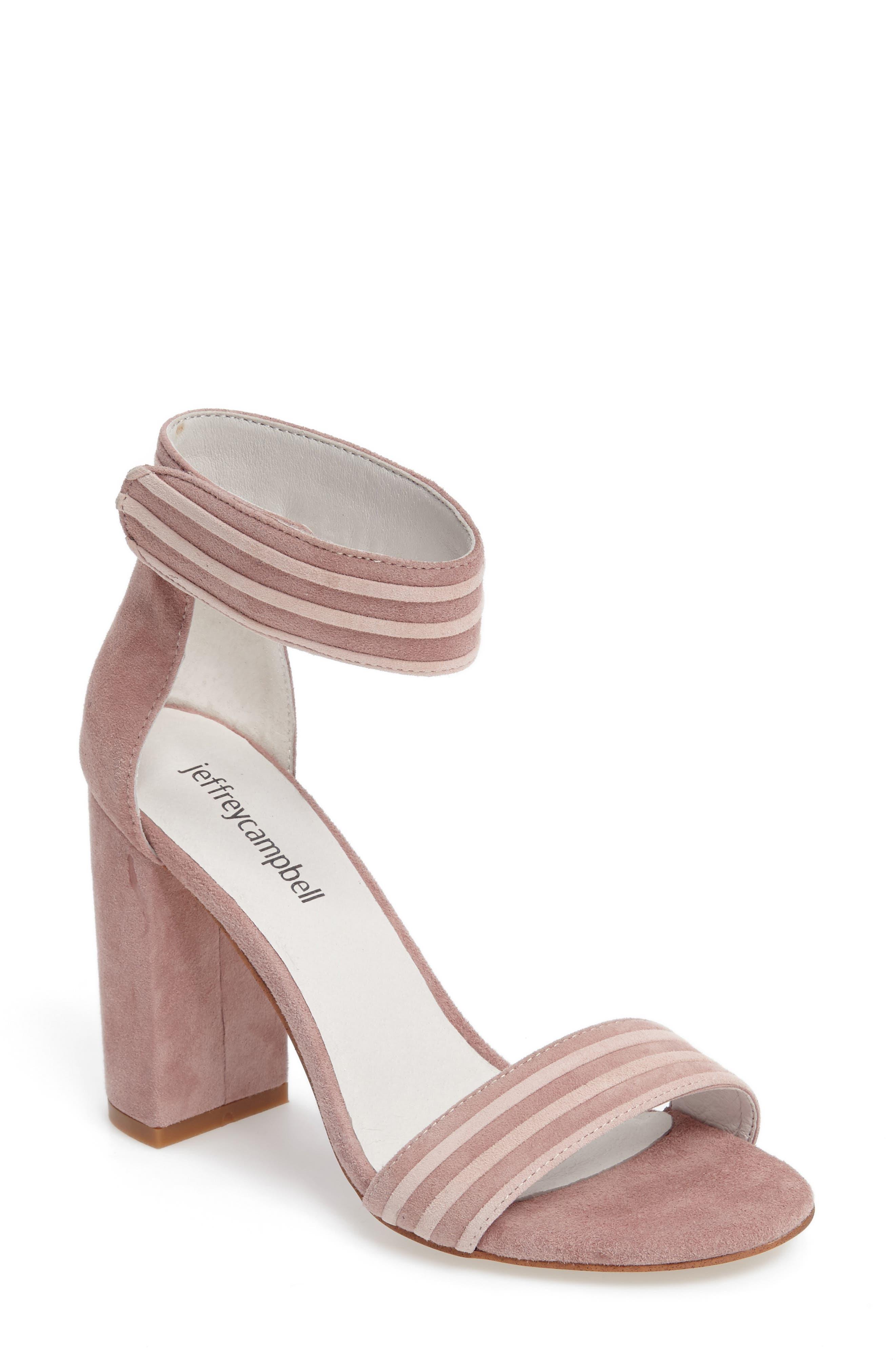 Main Image - Jeffrey Campbell Lindsay 2 Ankle Strap Sandal (Women)