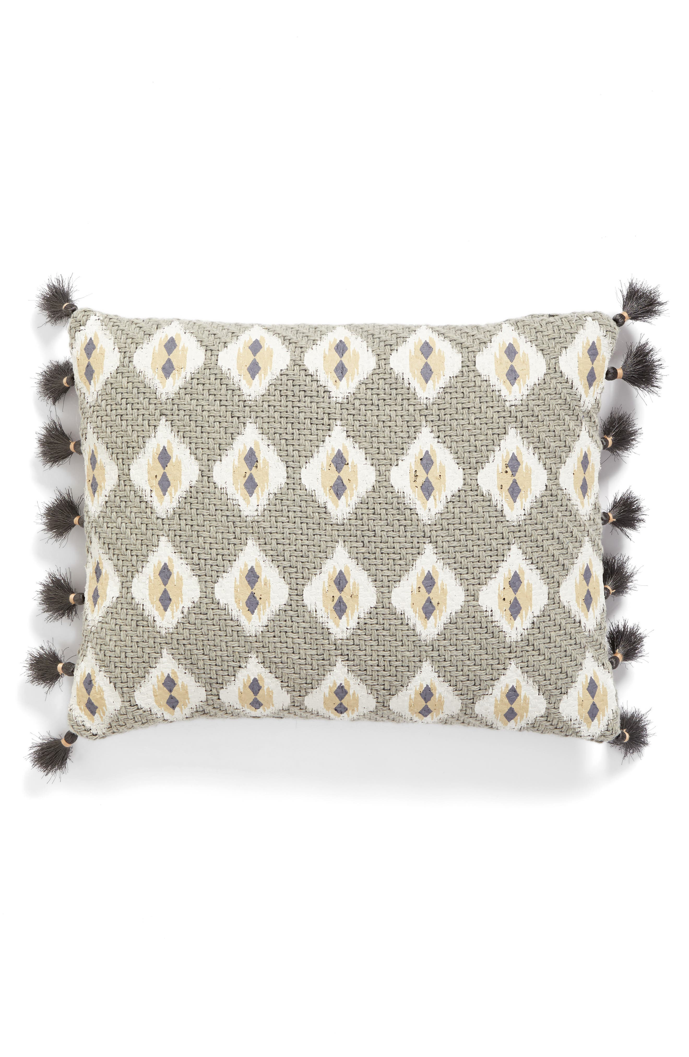 Alternate Image 1 Selected - Levtex Matmi Tassels Accent Pillow