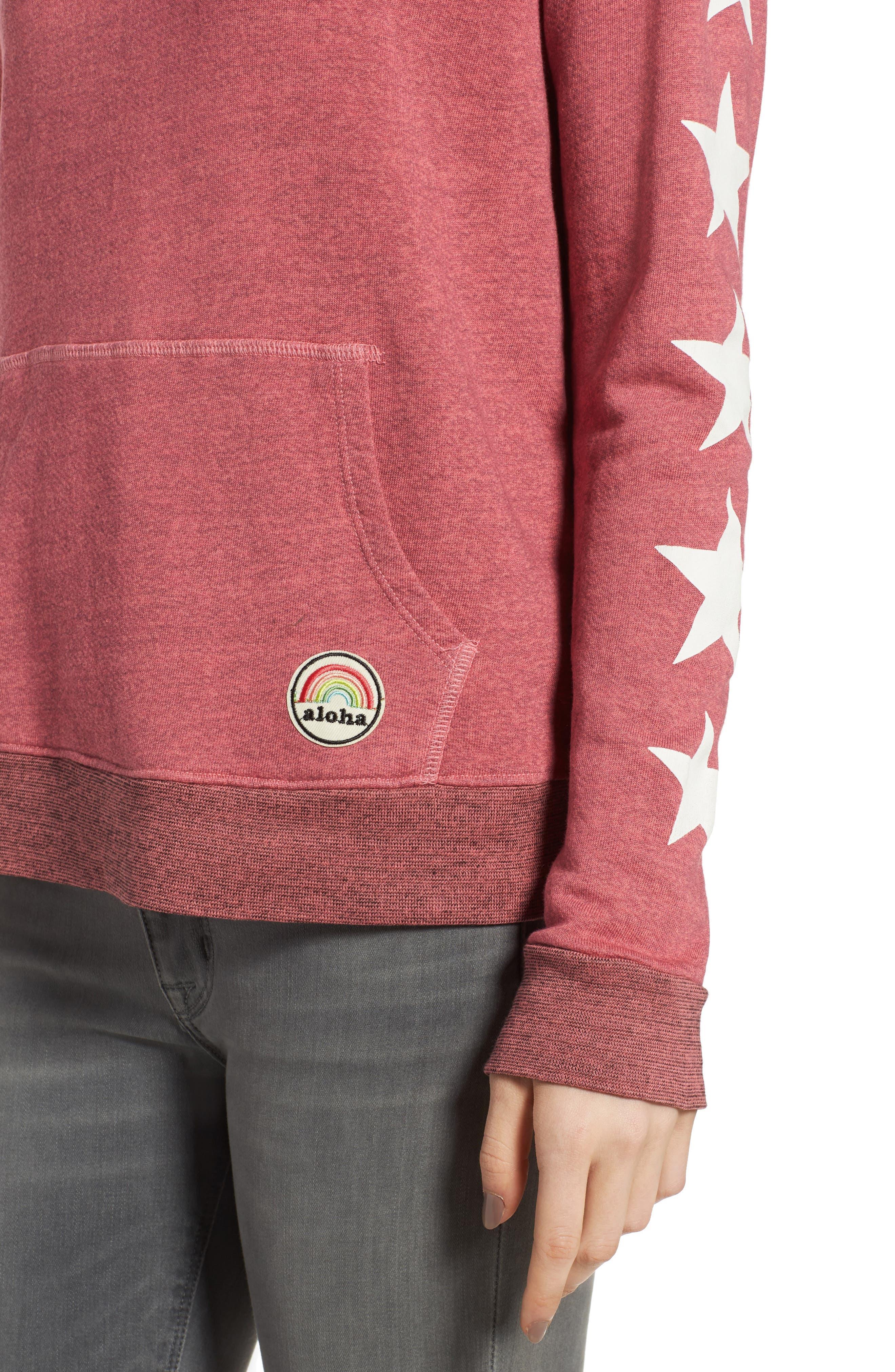 Alternate Image 5  - Sundry Graphic Pullover Hoodie