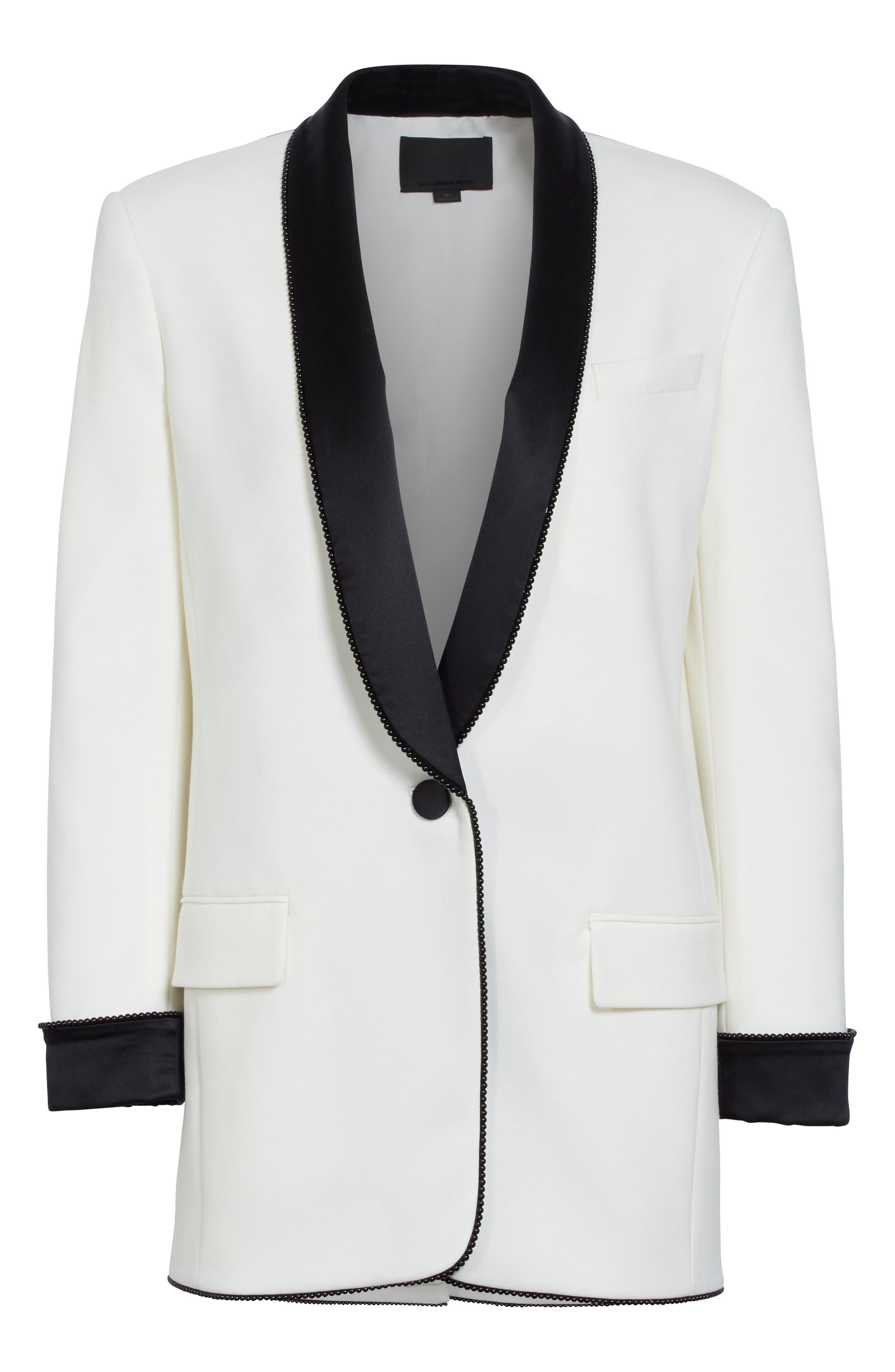 Alternate Image 4  - Alexander Wang Chain Trim Tuxedo Blazer