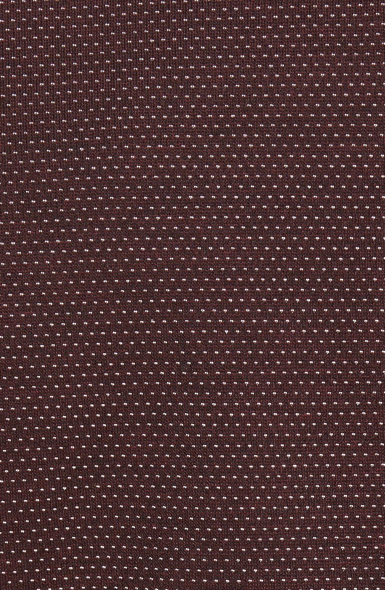 Badford Baseball Jacket,                             Alternate thumbnail 5, color,                             Dark Red