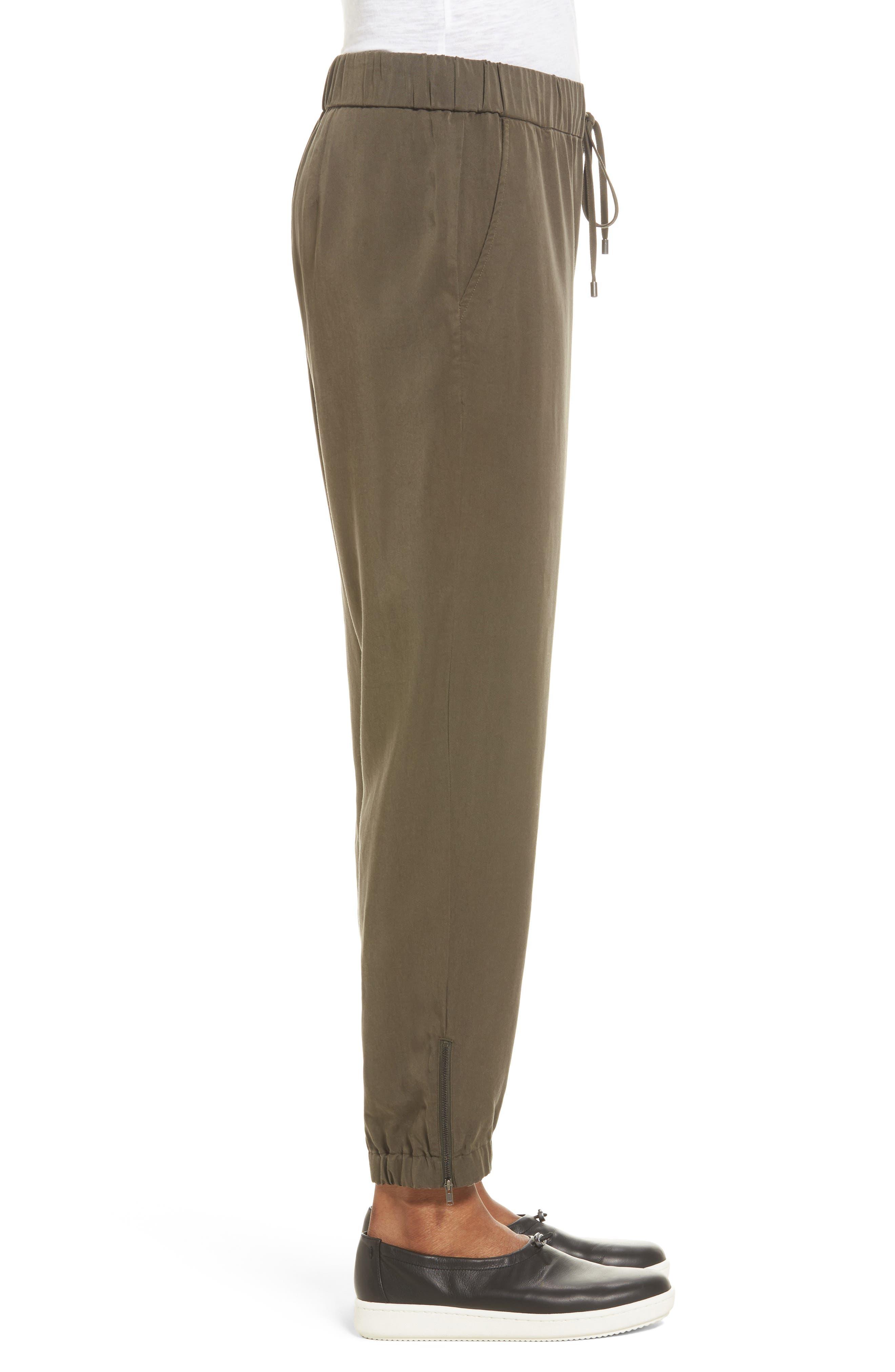 Alternate Image 3  - Eileen Fisher Tencel® Drawstring Ankle Pants