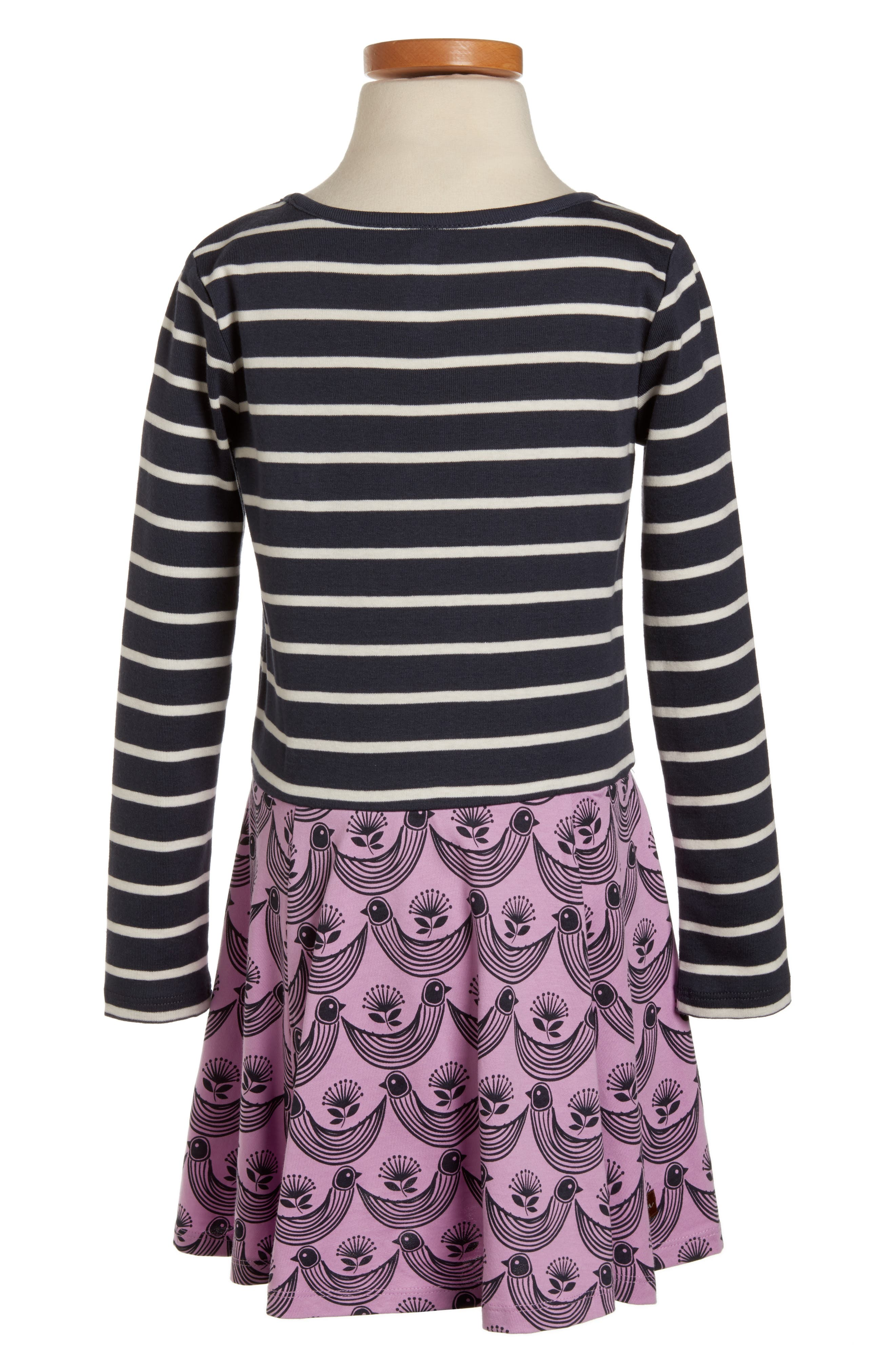 Alternate Image 3  - Tea Collection Mixed Print Dress (Toddler Girls, Little Girls & Big Girls)
