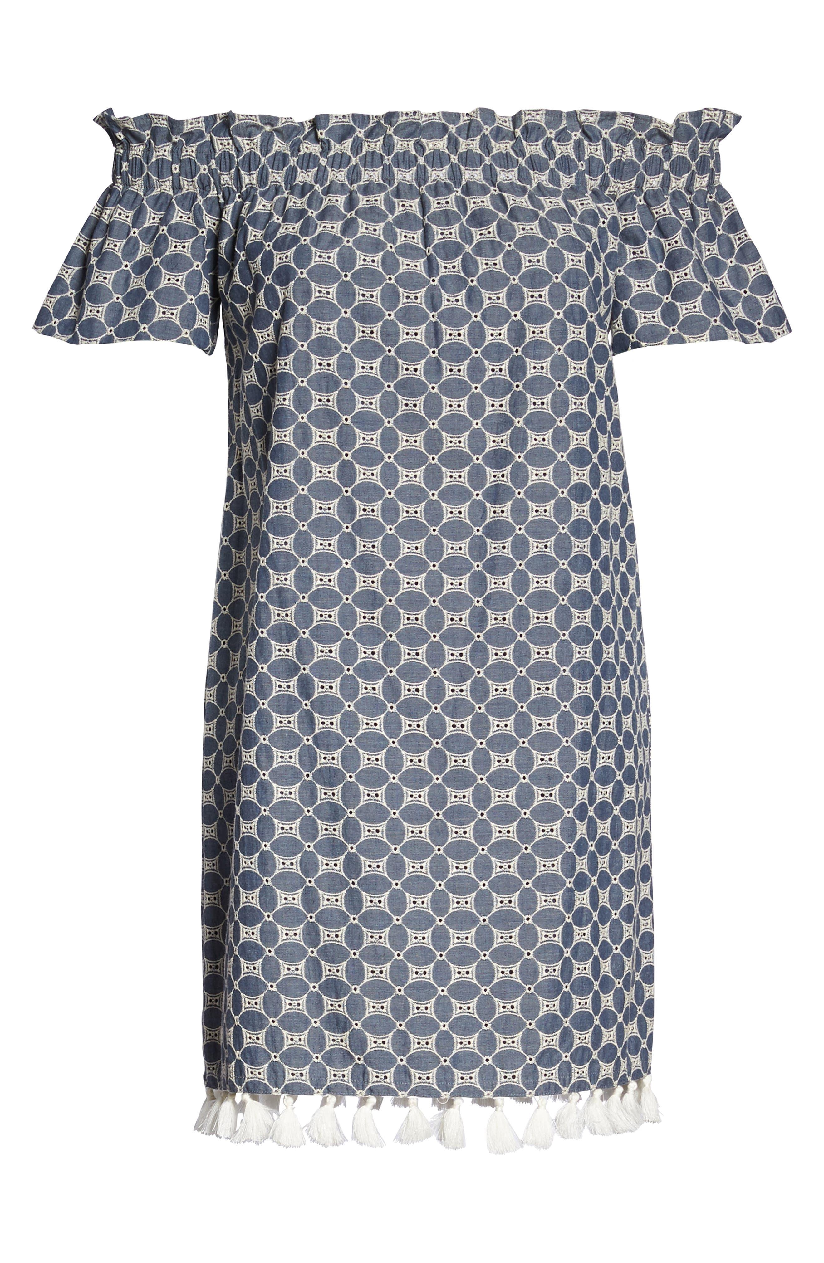 Alternate Image 7  - Chelsea28 Off the Shoulder Dress