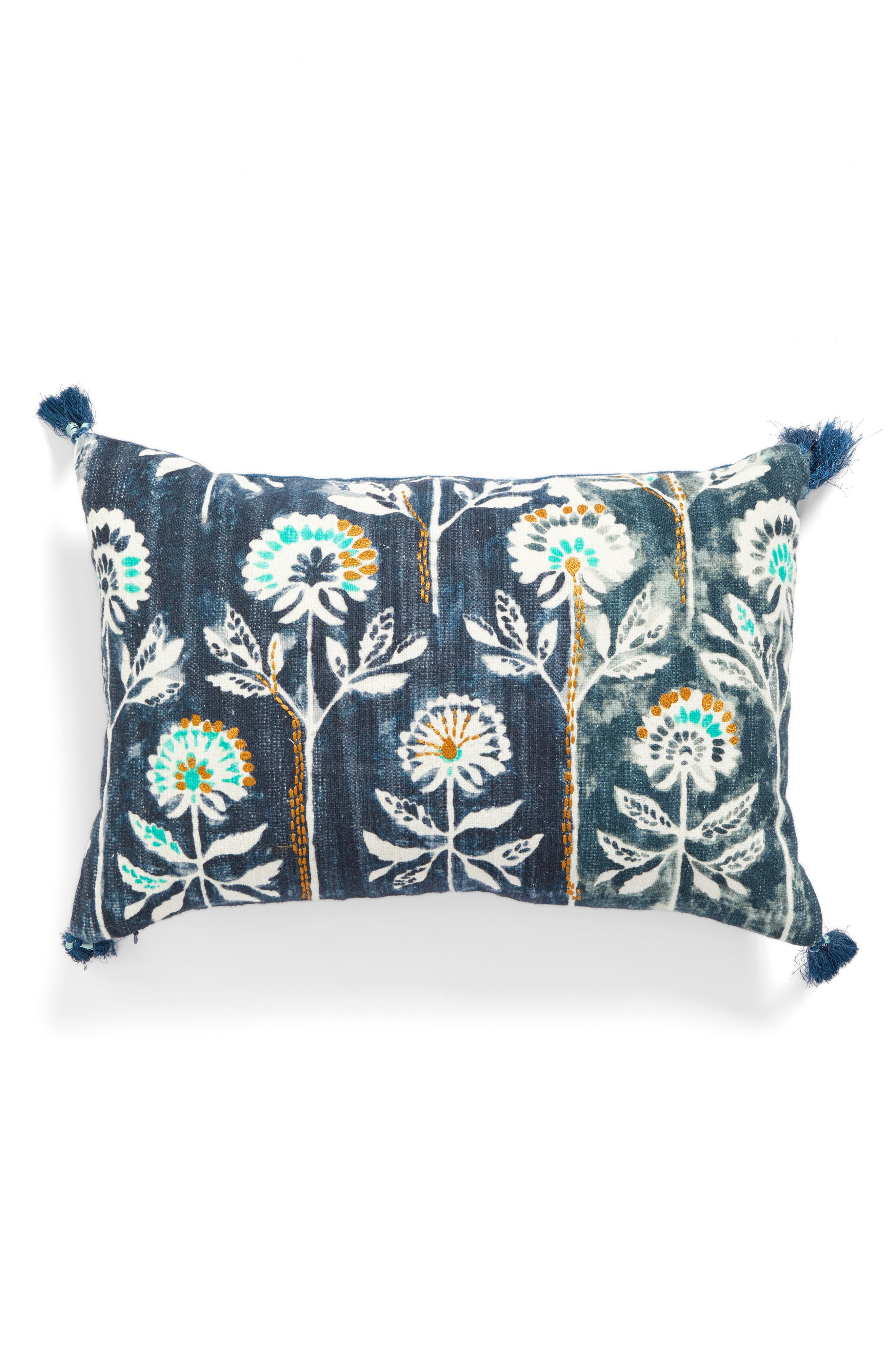 Alternate Image 1 Selected - Nordstrom at Home Watercolor Floral Accent Pillow