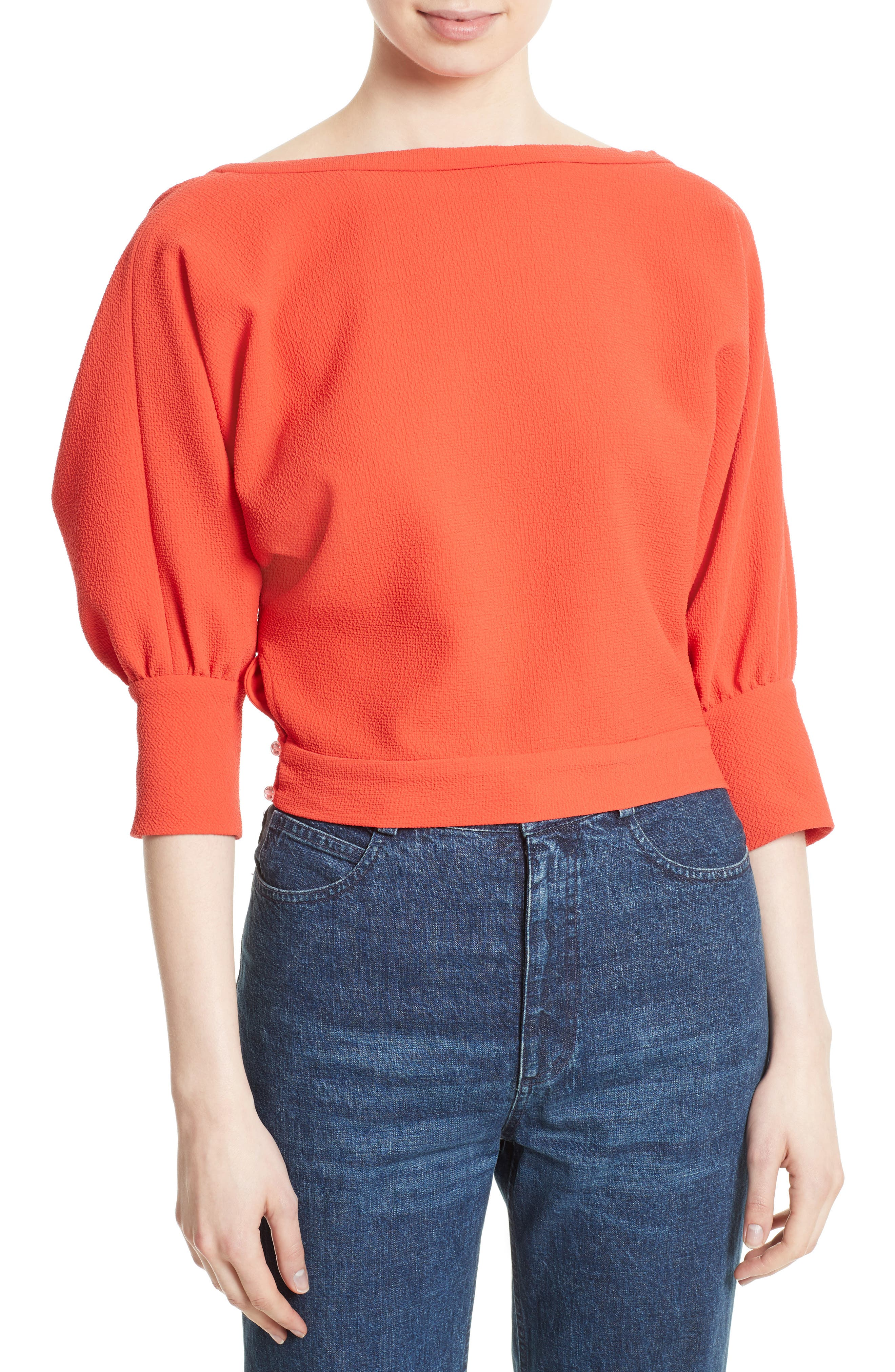 Rachel Comey Tempe Surplice Back Top