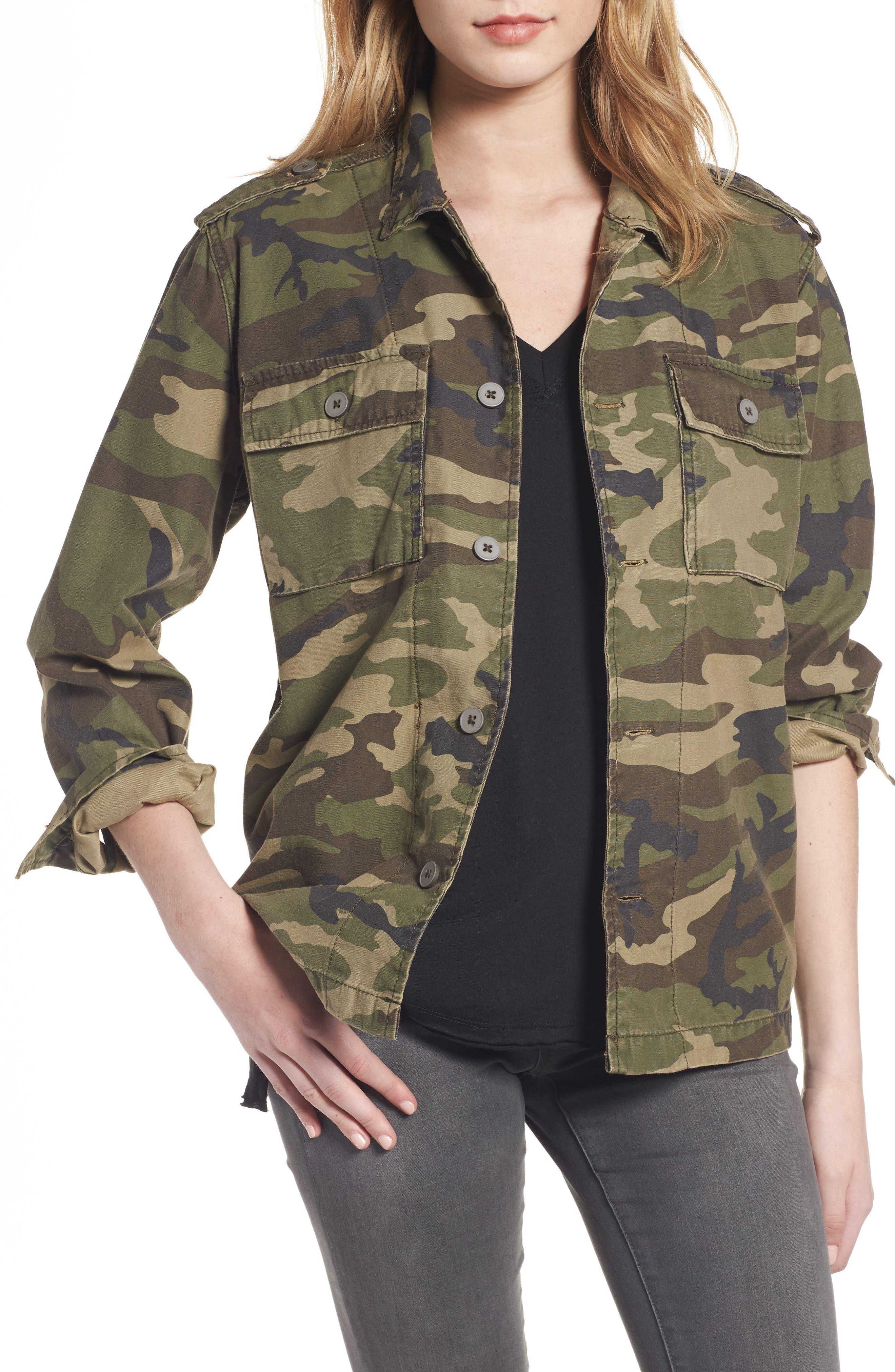 Alternate Image 1 Selected - Thread & Supply Barton Camo Print Jacket