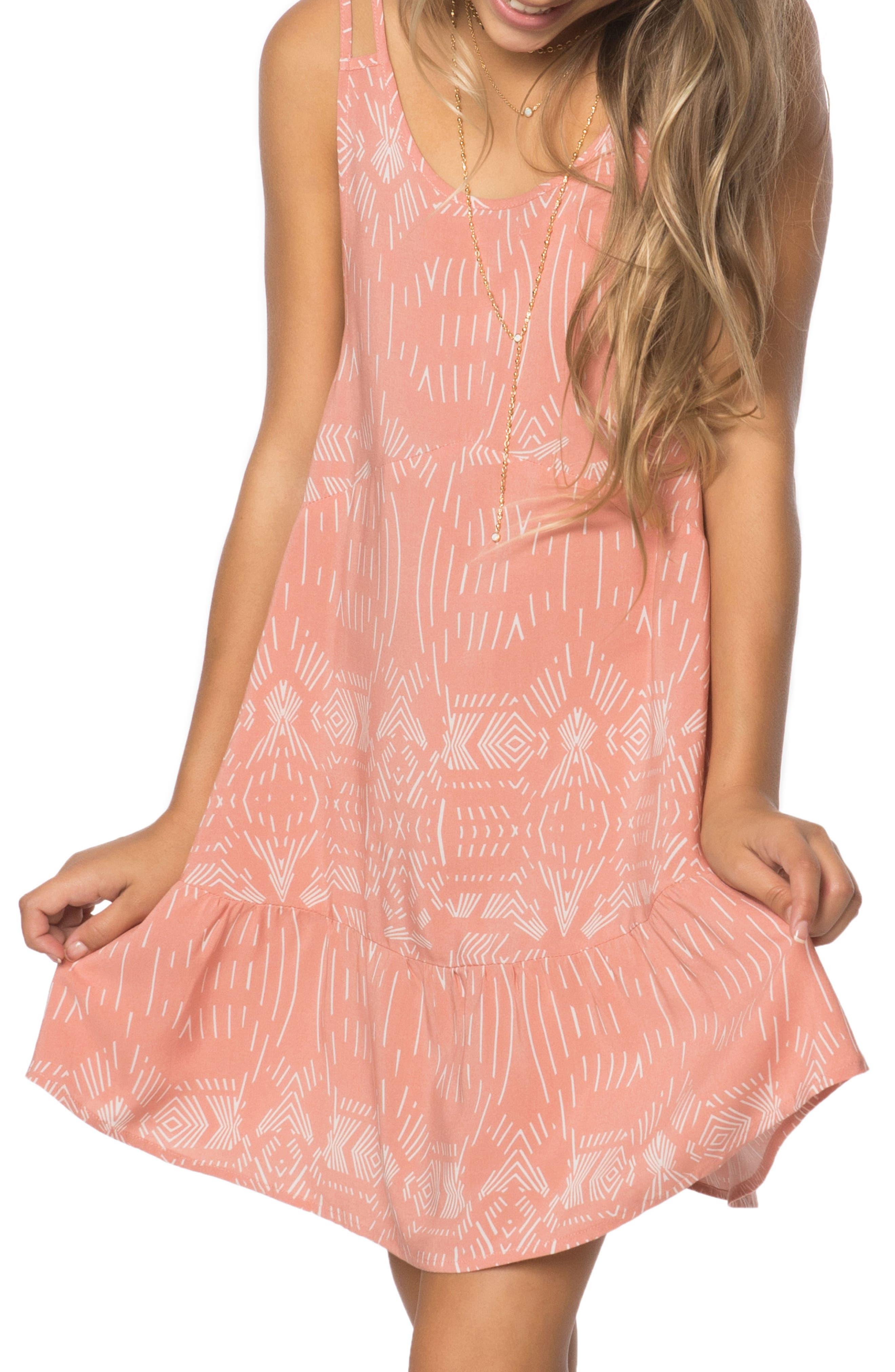 Alternate Image 1 Selected - O'Neilll Harley Sleeveless Dress (Big Girls)