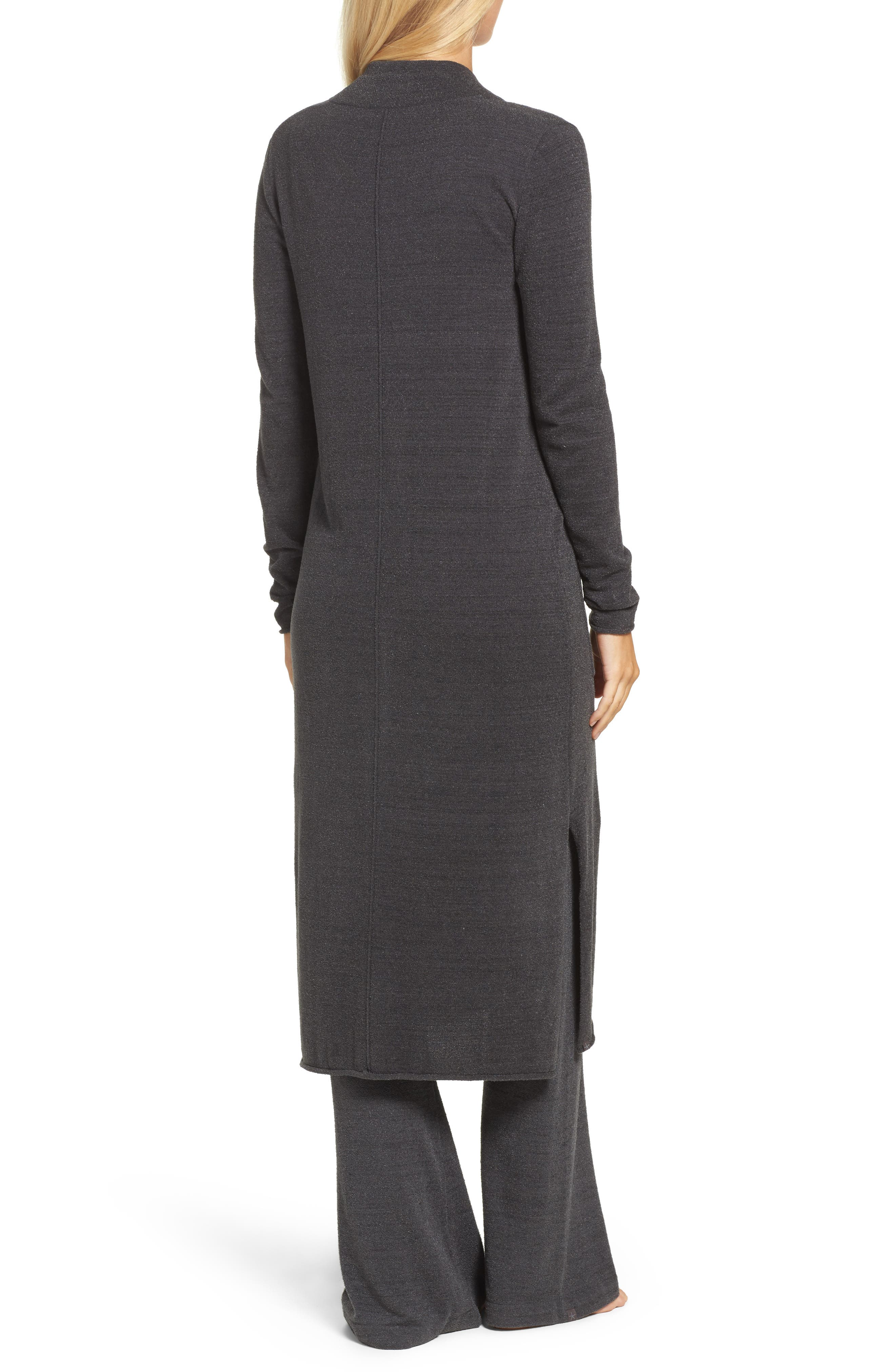 Barefoot Dreams Cozychic Ultra Lite<sup>®</sup> Duster,                             Alternate thumbnail 2, color,                             Carbon