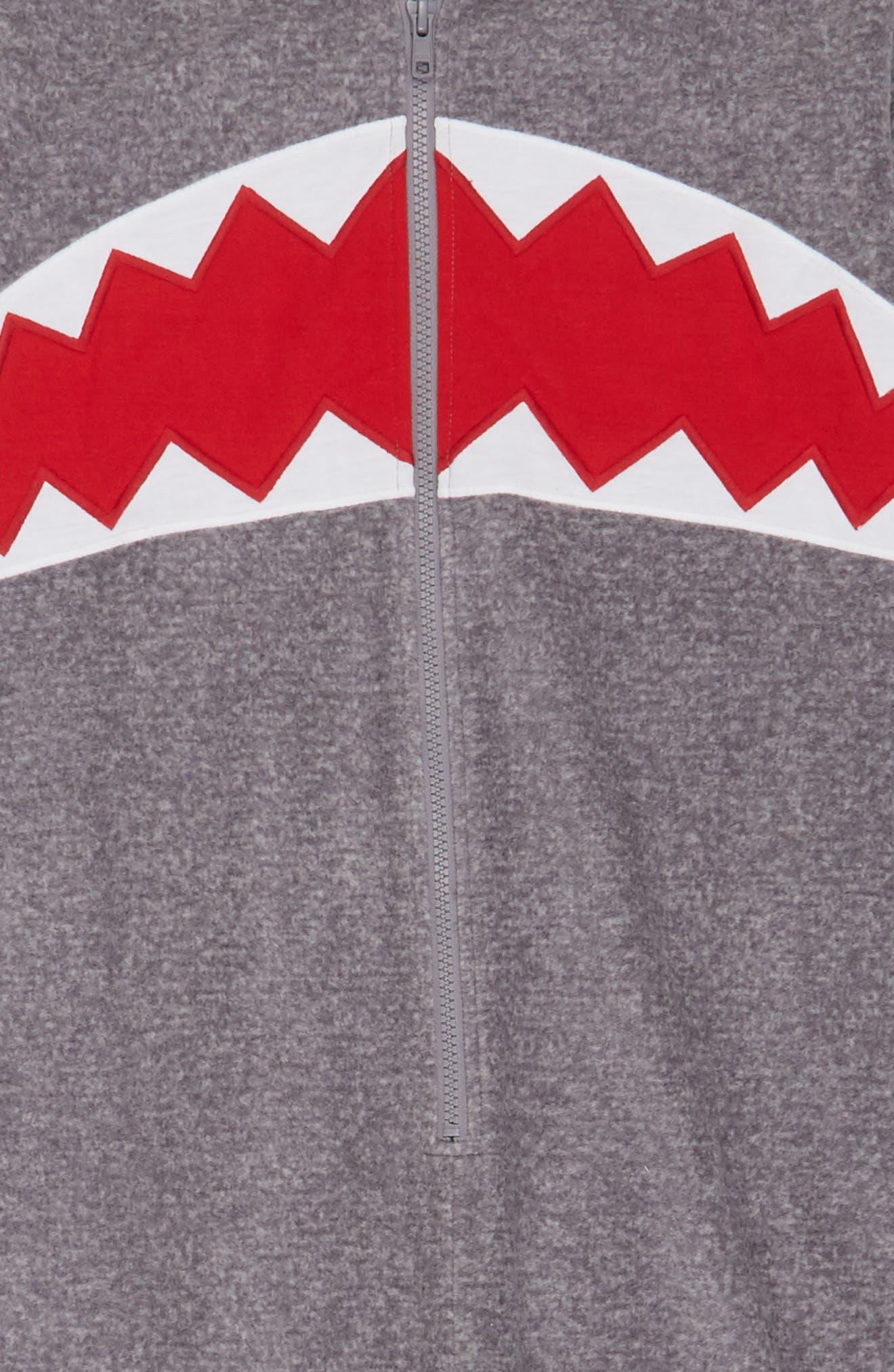 Alternate Image 3  - Tucker + Tate Shark One-Piece Pajamas (Little Boys & Big Boys)