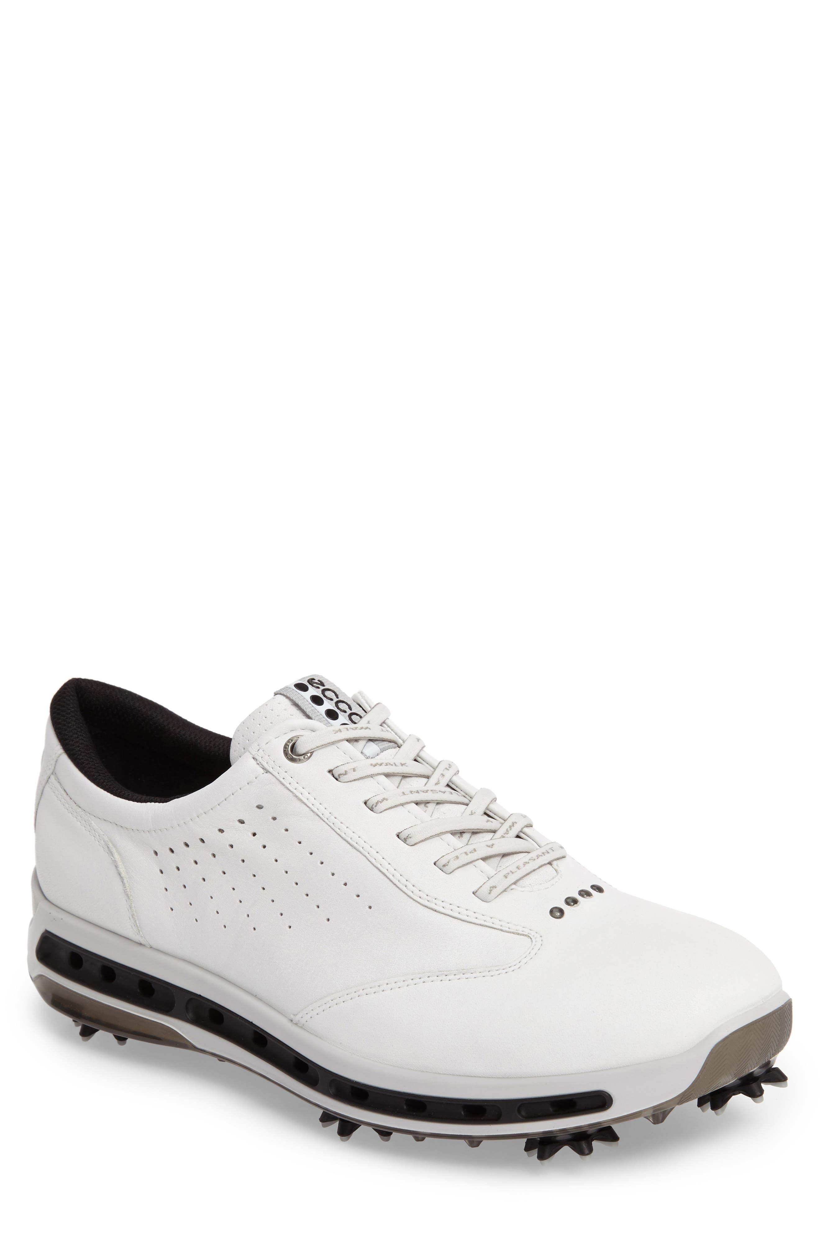 Cool GTX Golf Shoe,                         Main,                         color, White/ Black