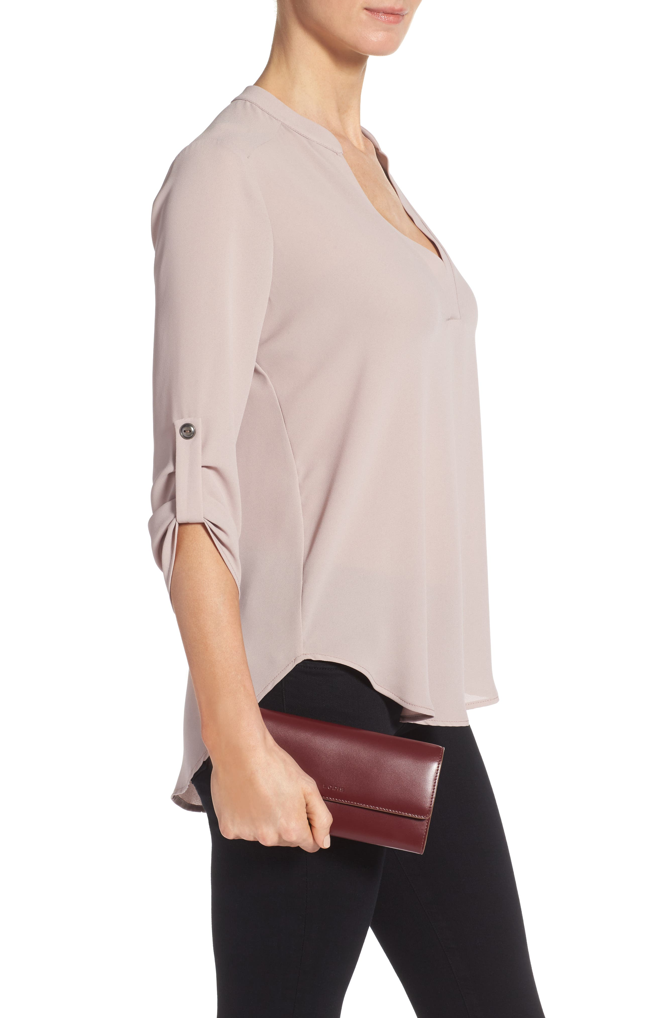 Alternate Image 3  - Lodis Audrey - Cami RFID Leather Clutch Wallet