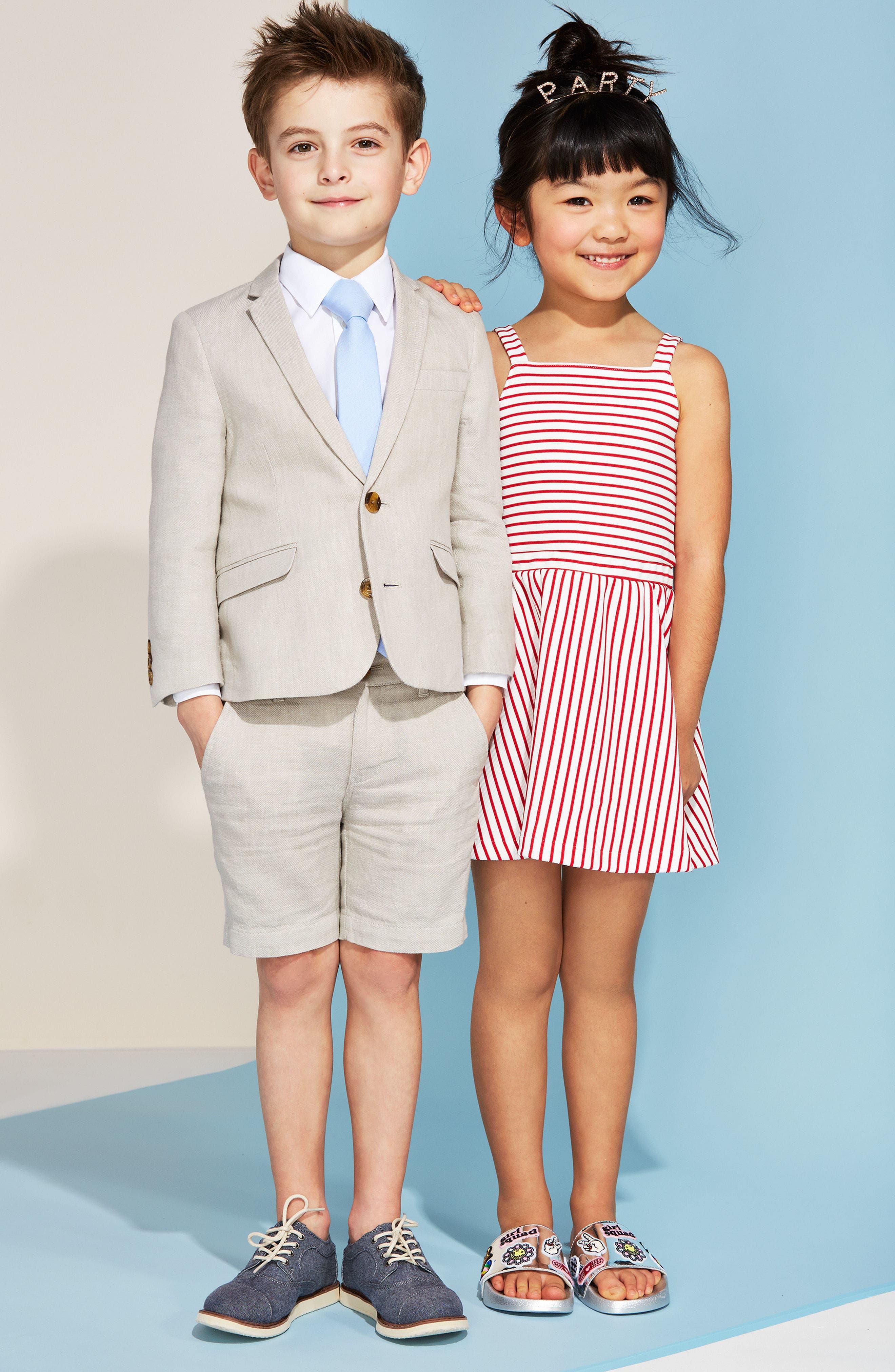 Alternate Image 4  - Appaman Linen Suit Jacket (Toddler Boys, Little Boys & Big Boys)