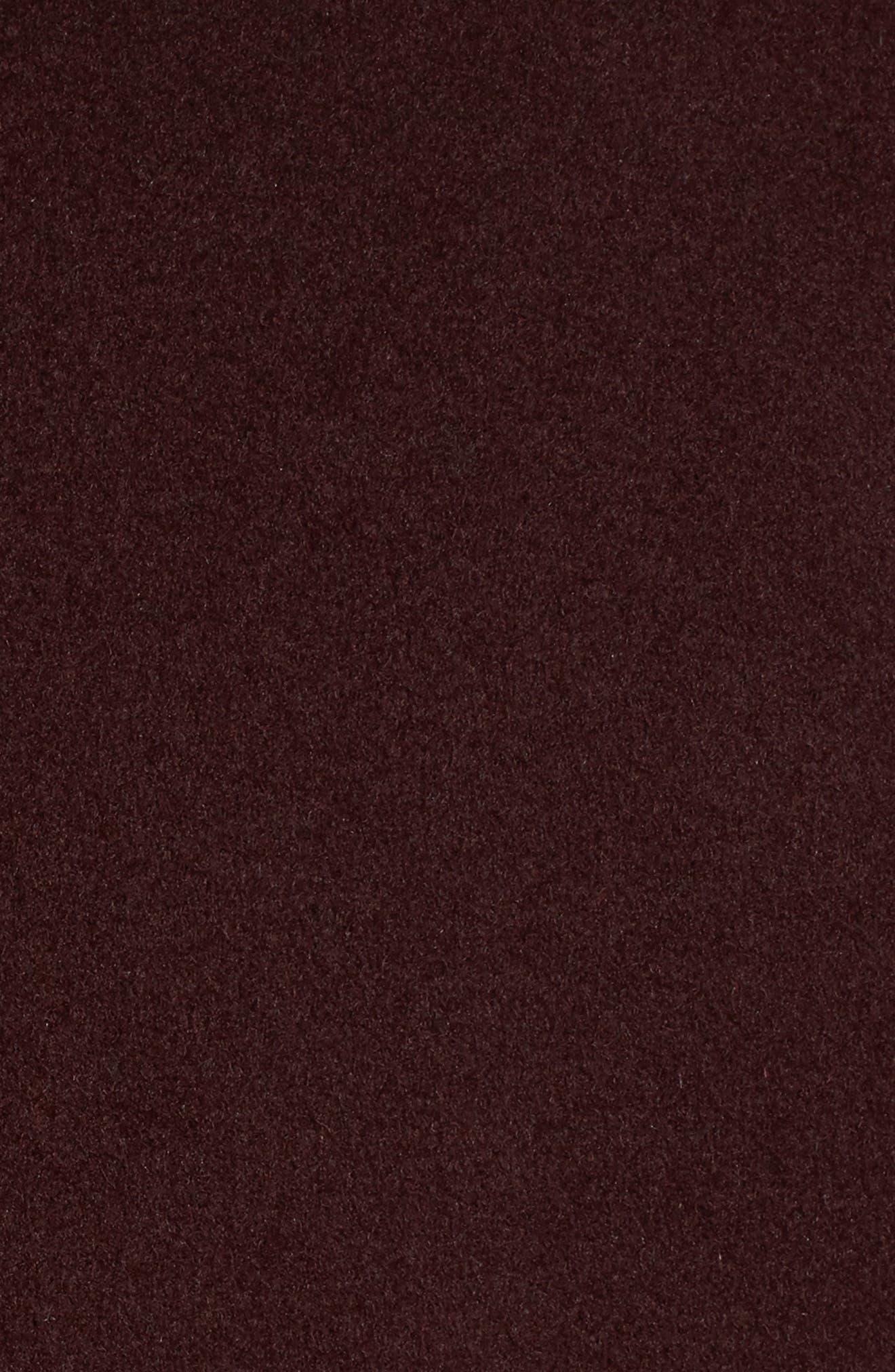 Alternate Image 5  - Tahari 'Ella' Belted Double Face Wool Blend Wrap Coat (Regular & Petite)