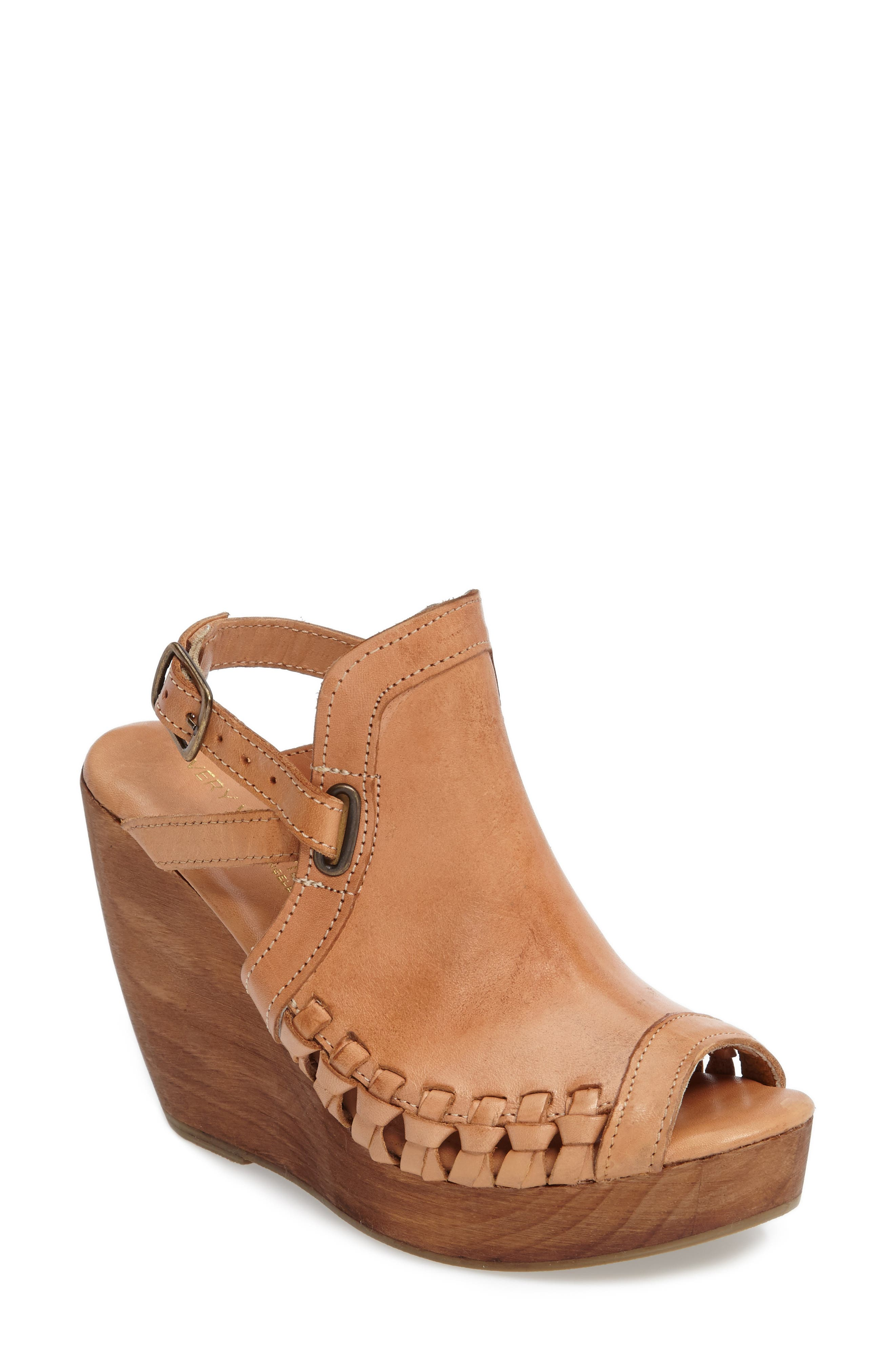 Alternate Image 1 Selected - Very Volatile Carry Wedge Sandal (Women)