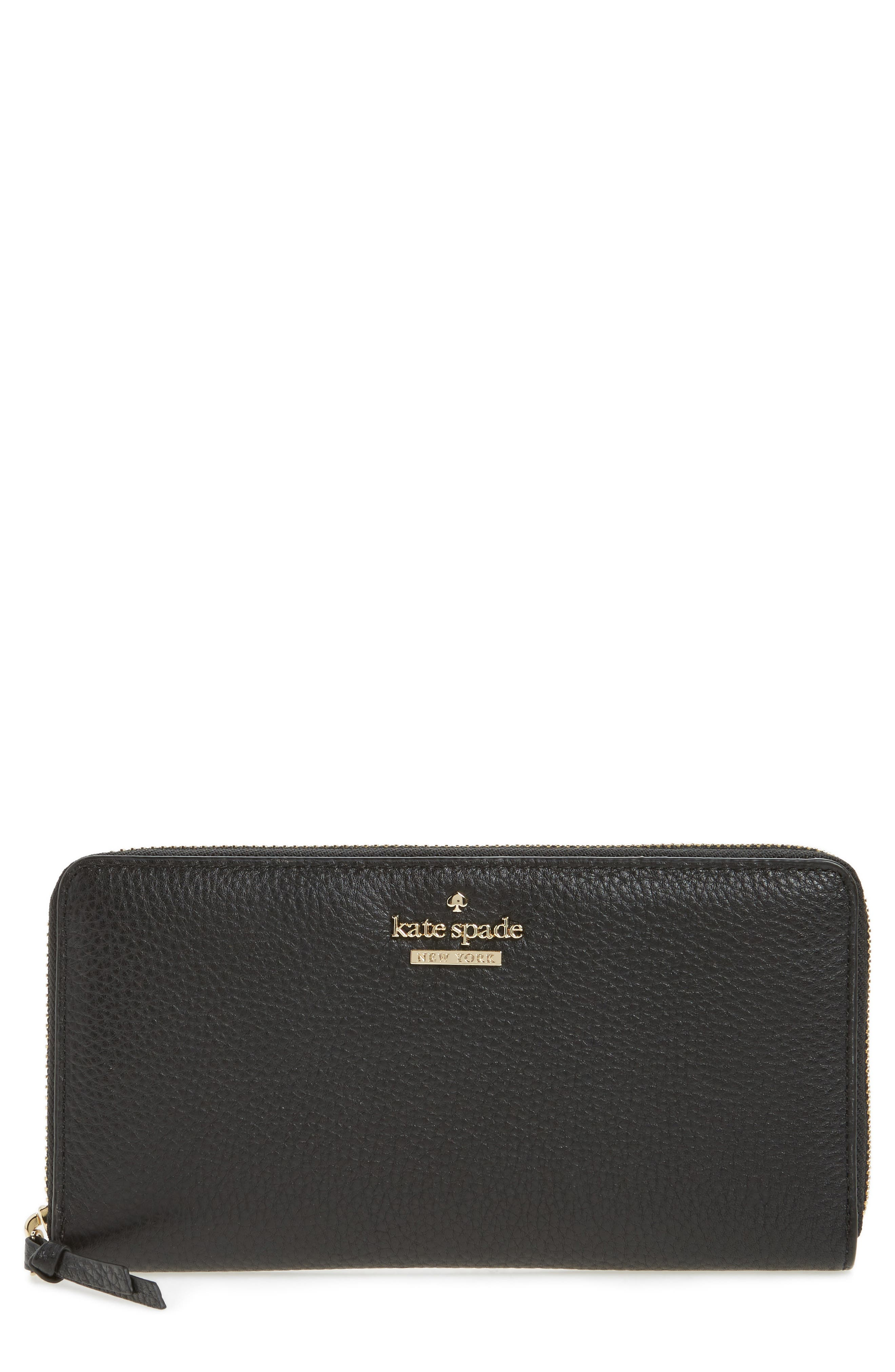 KATE SPADE NEW YORK jackson street lacey leather wallet