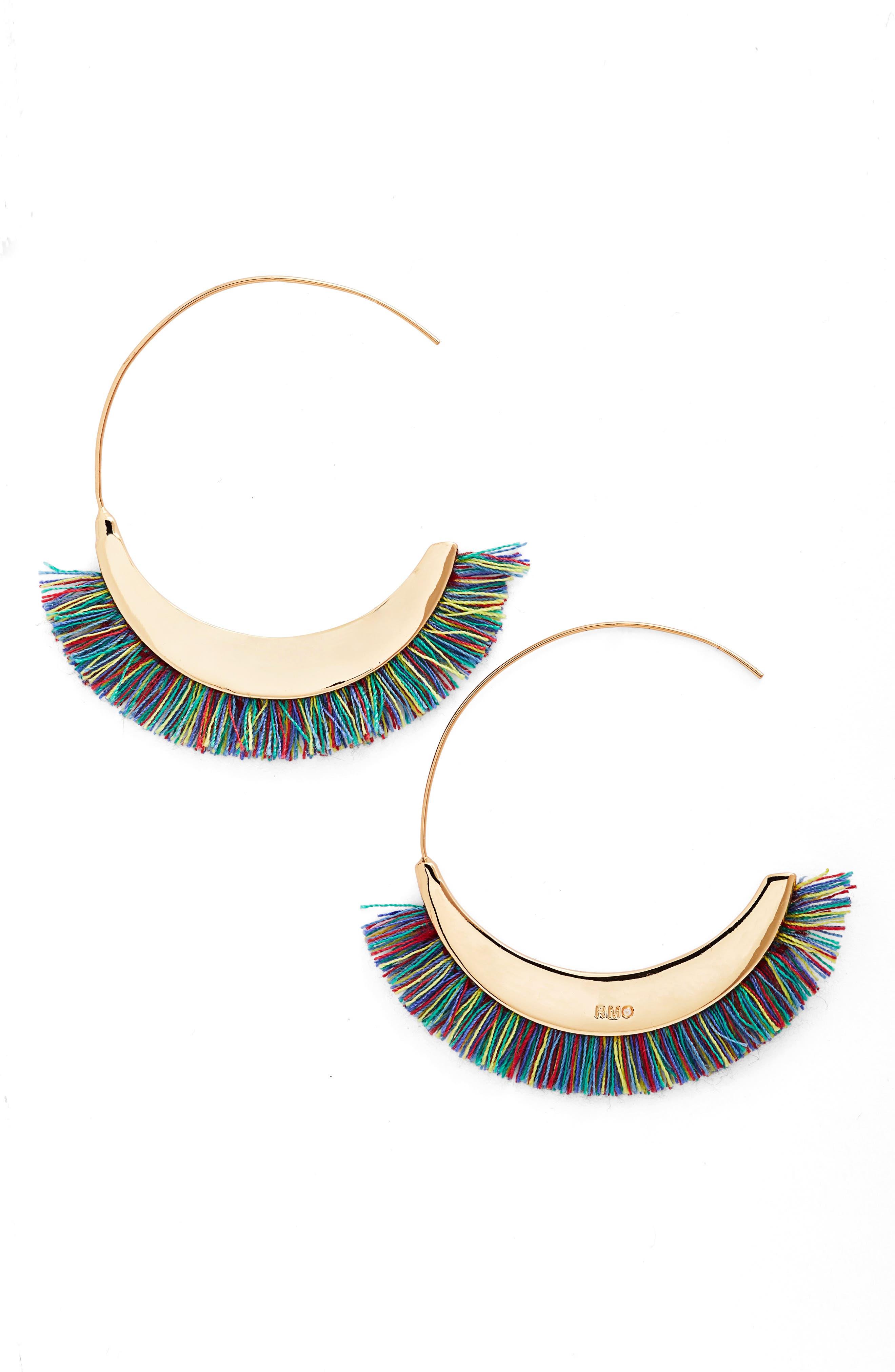 Rebecca Minkoff Large Hoop Earrings