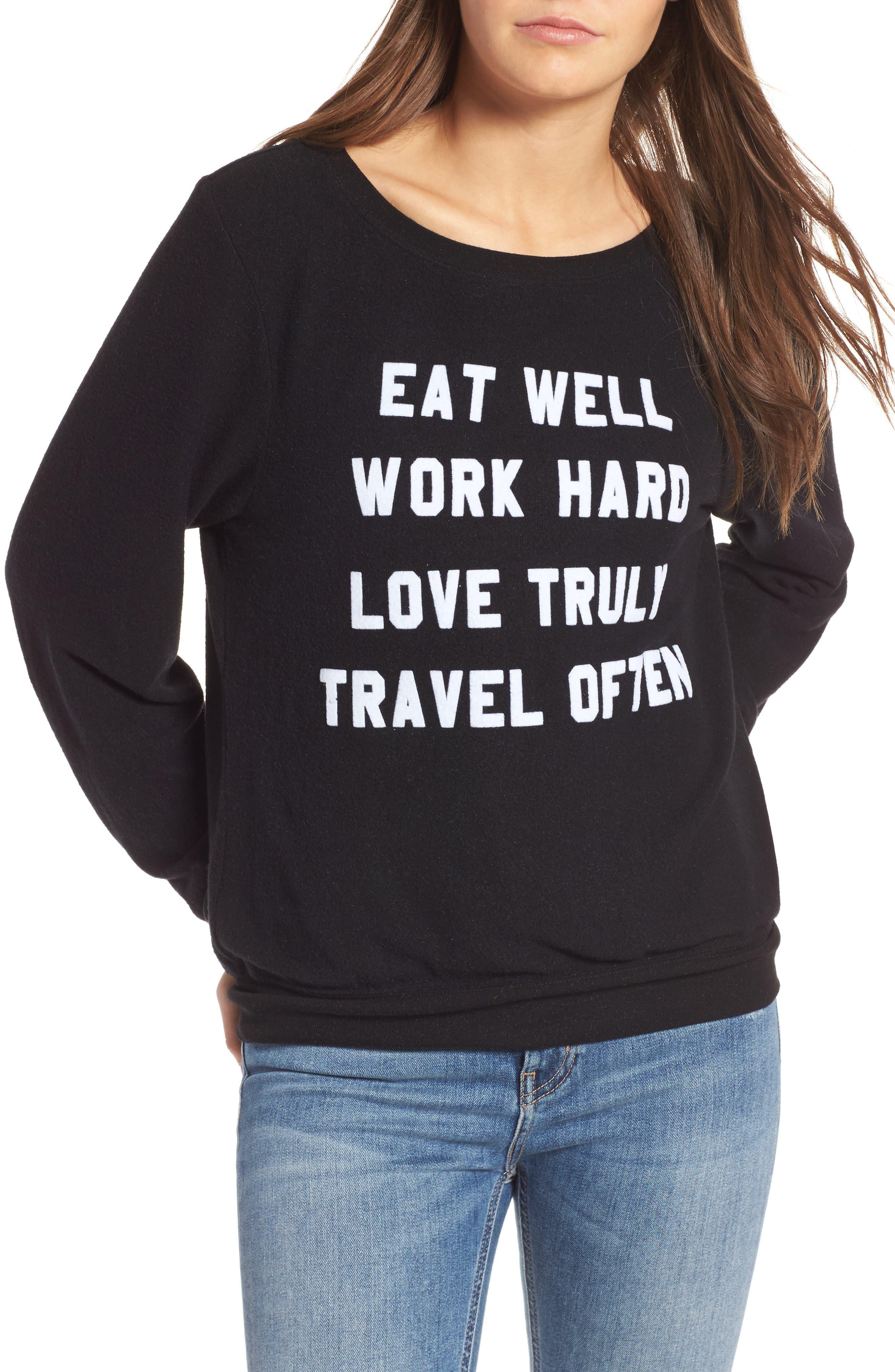 Wildfox 'Mantra' Sweatshirt