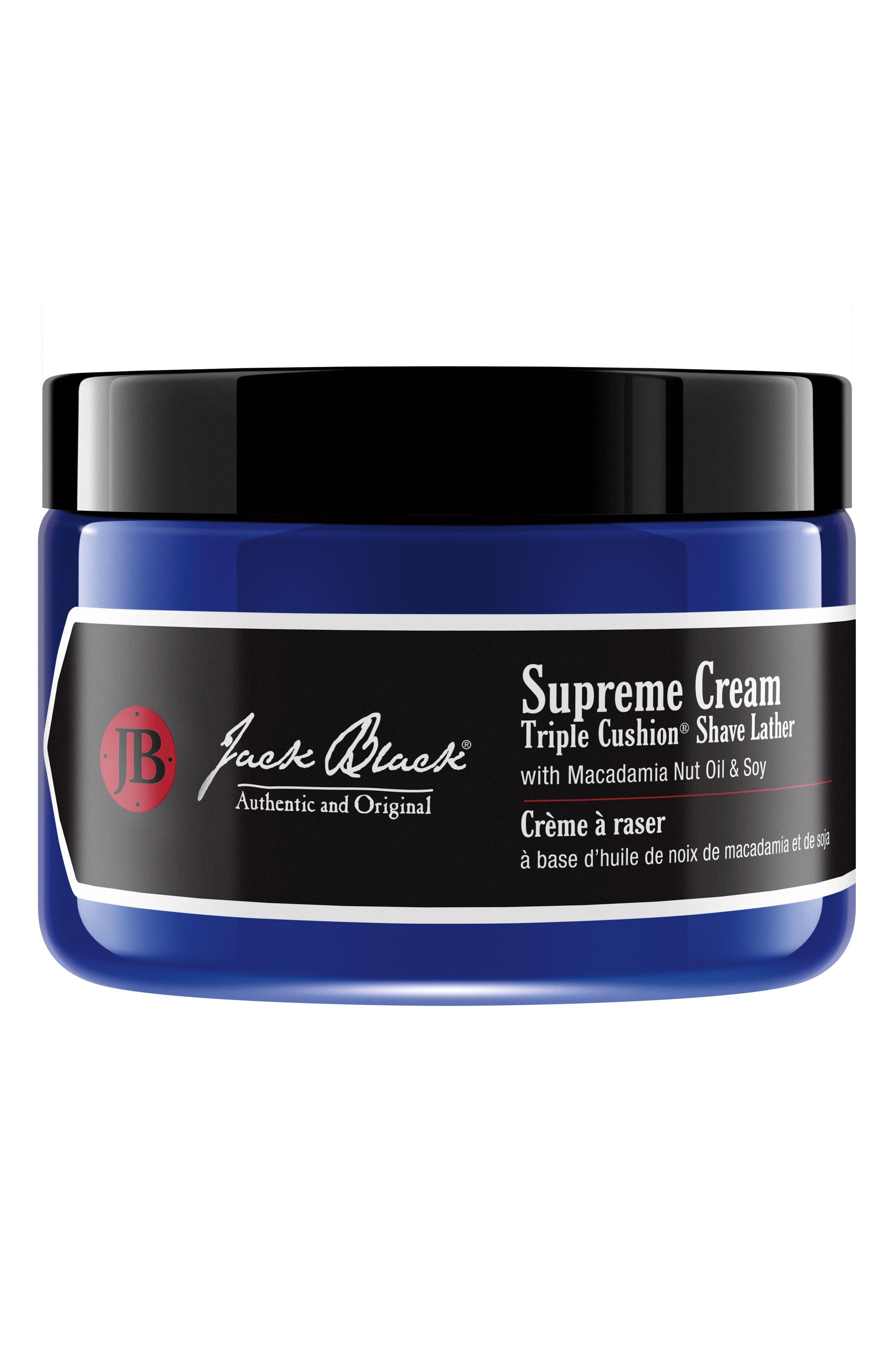 Main Image - Jack Black Supreme Cream Triple Cushion® Shave Lather Jar