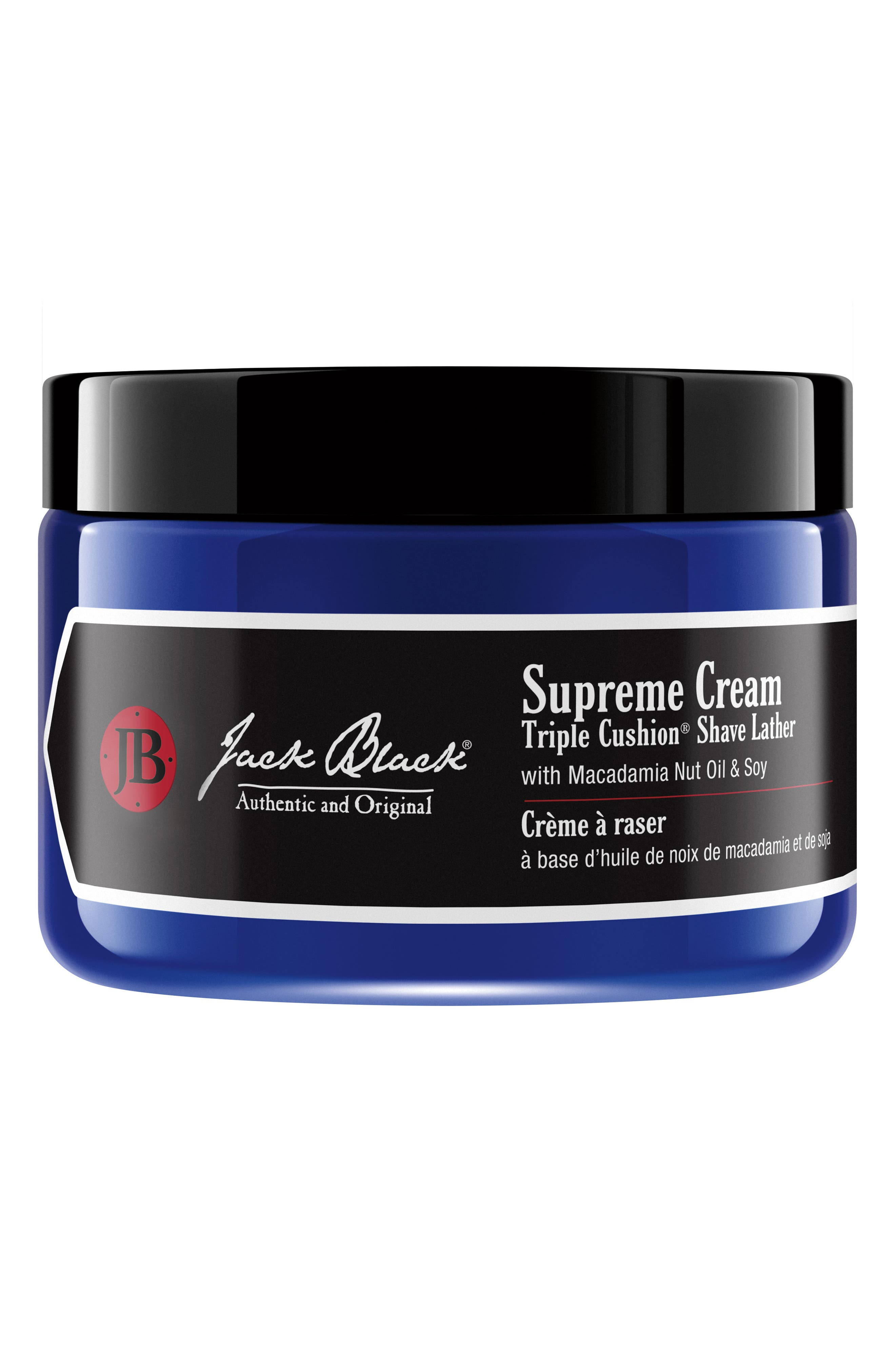 Jack Black Supreme Cream Triple Cushion® Shave Lather Jar