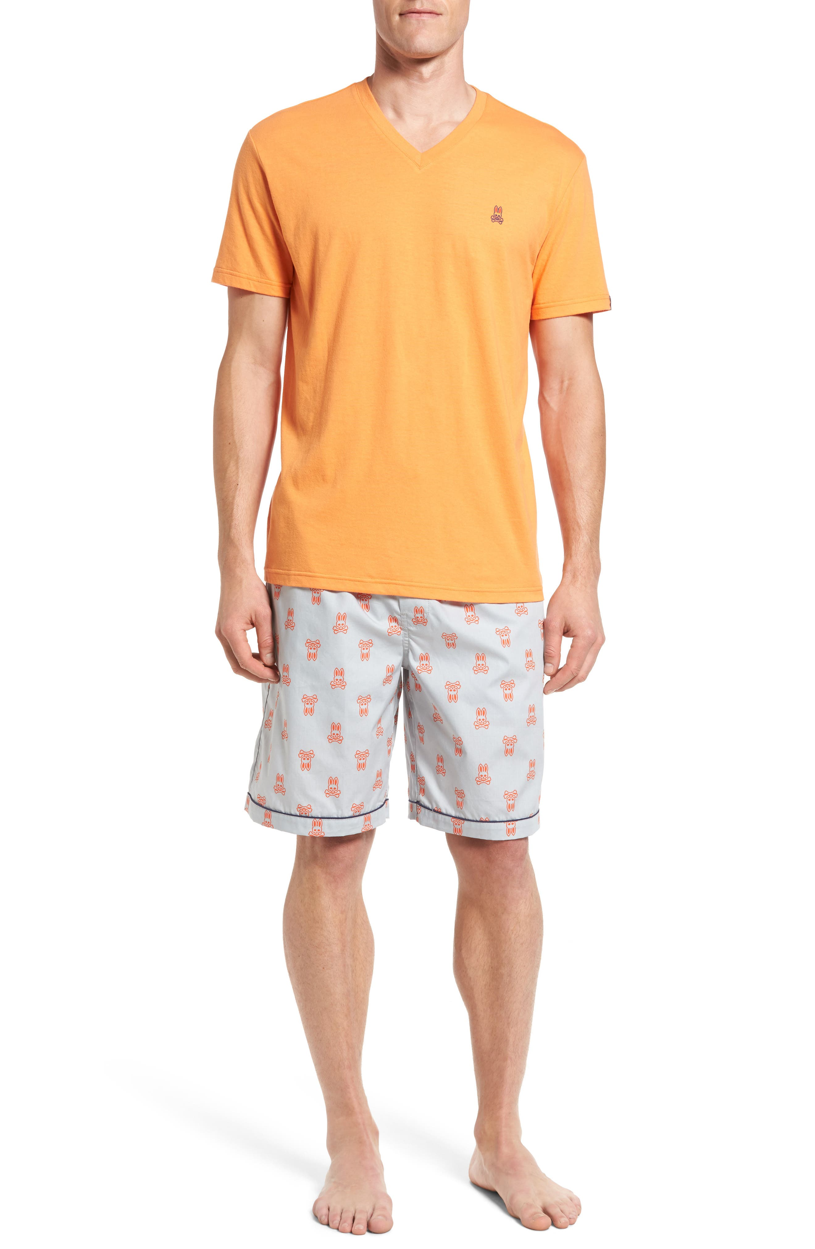 Psycho Bunny Pajama Set