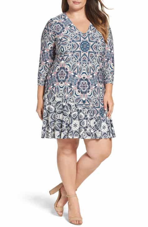 A Line Plus Size Dresses Nordstrom